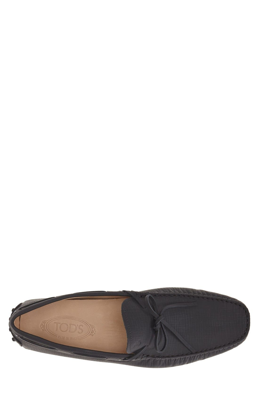Gommini Tie Front Driving Moccasin,                             Alternate thumbnail 47, color,