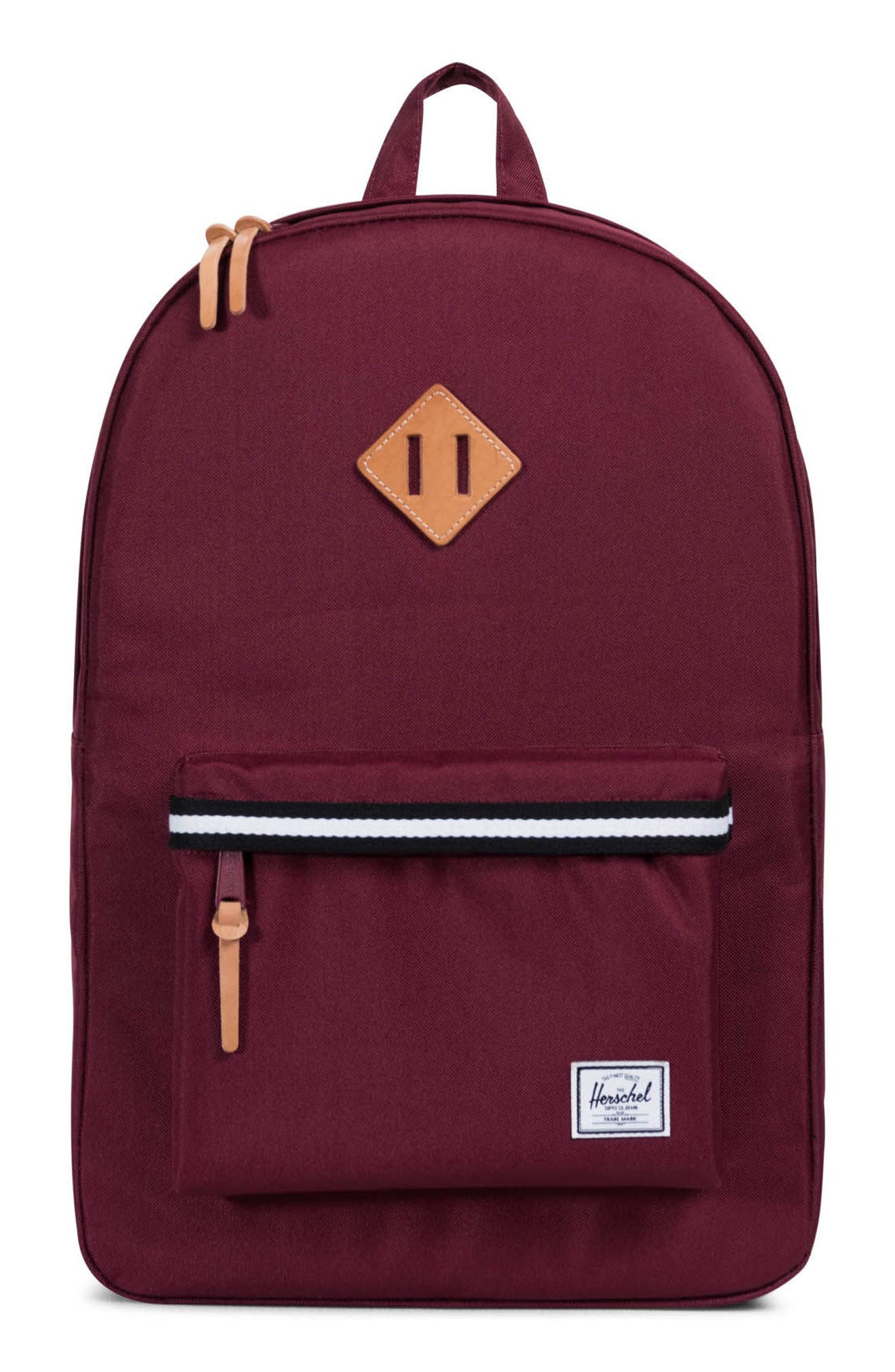 Heritage Offset Stripe Backpack,                             Main thumbnail 4, color,
