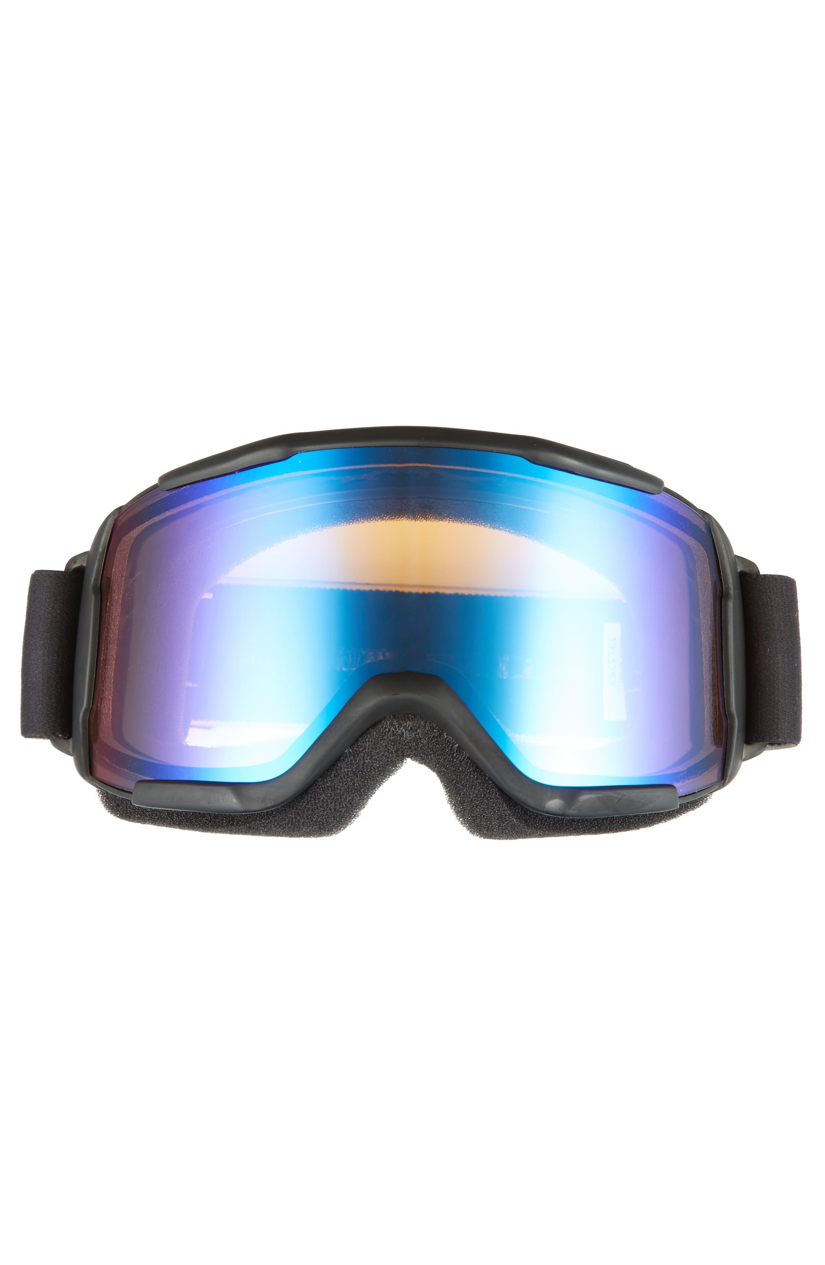 Daredevil 175mm Snow Goggles,                             Alternate thumbnail 3, color,                             BLACK/ MIRROR