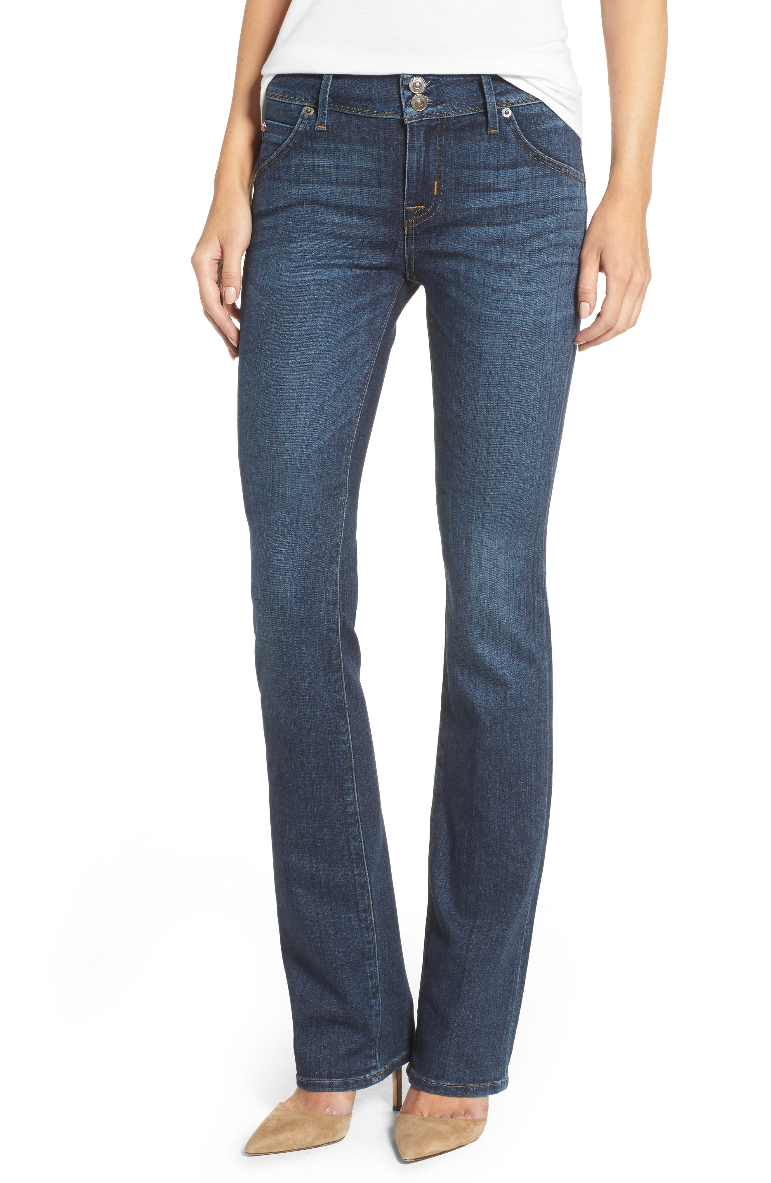 'Beth' Baby Bootcut Jeans,                             Main thumbnail 1, color,                             422