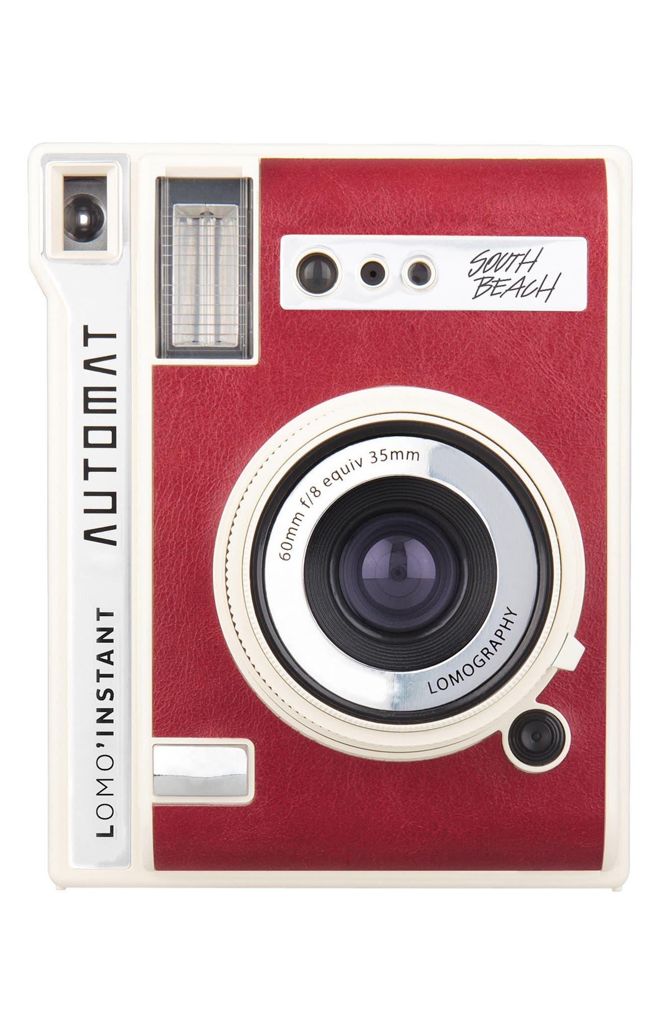 Lomo'Instant Automat South Beach Instant Camera, Main, color, 600