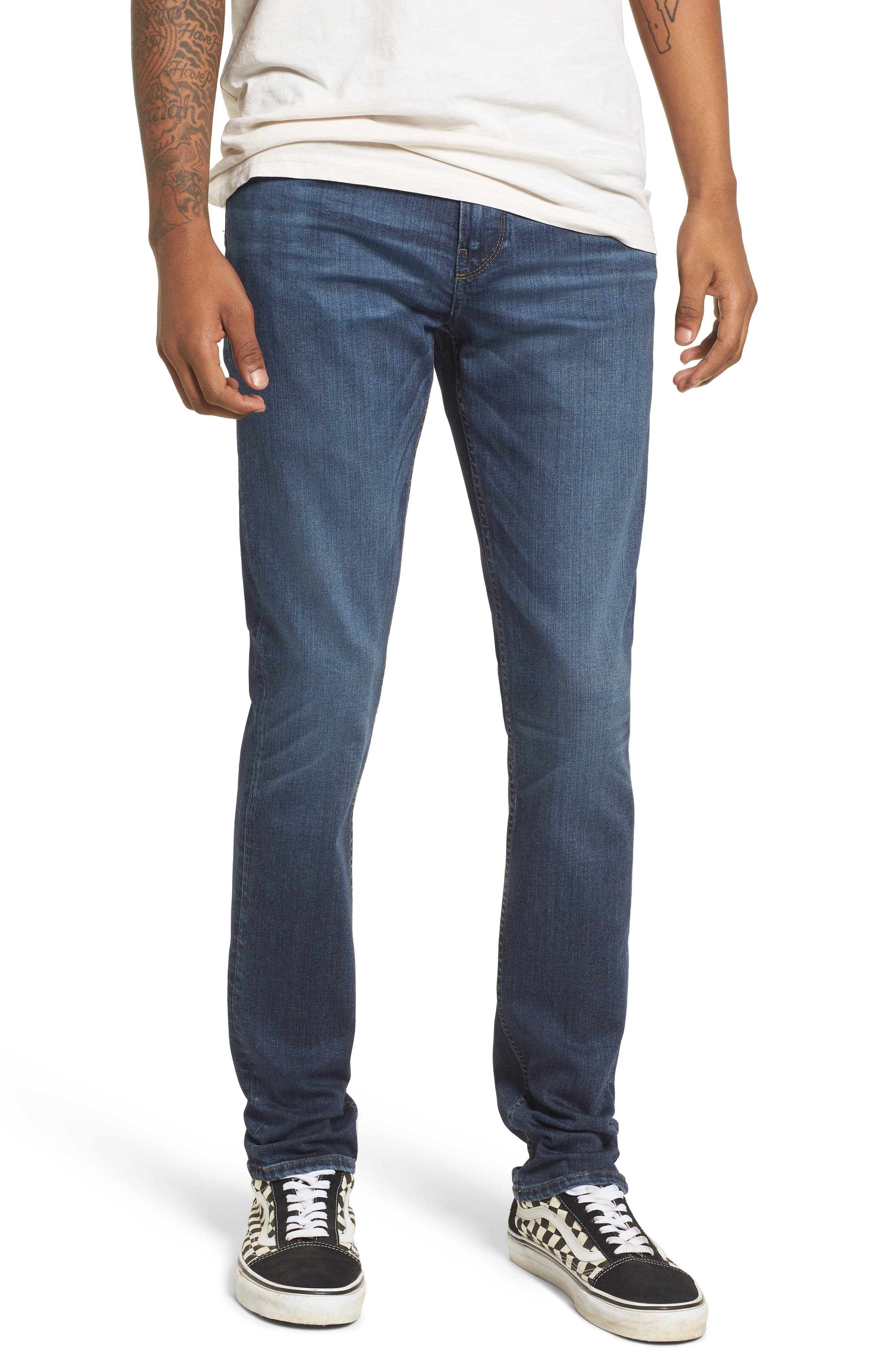 Transcend - Croft Skinny Fit Jeans,                         Main,                         color, FULTON