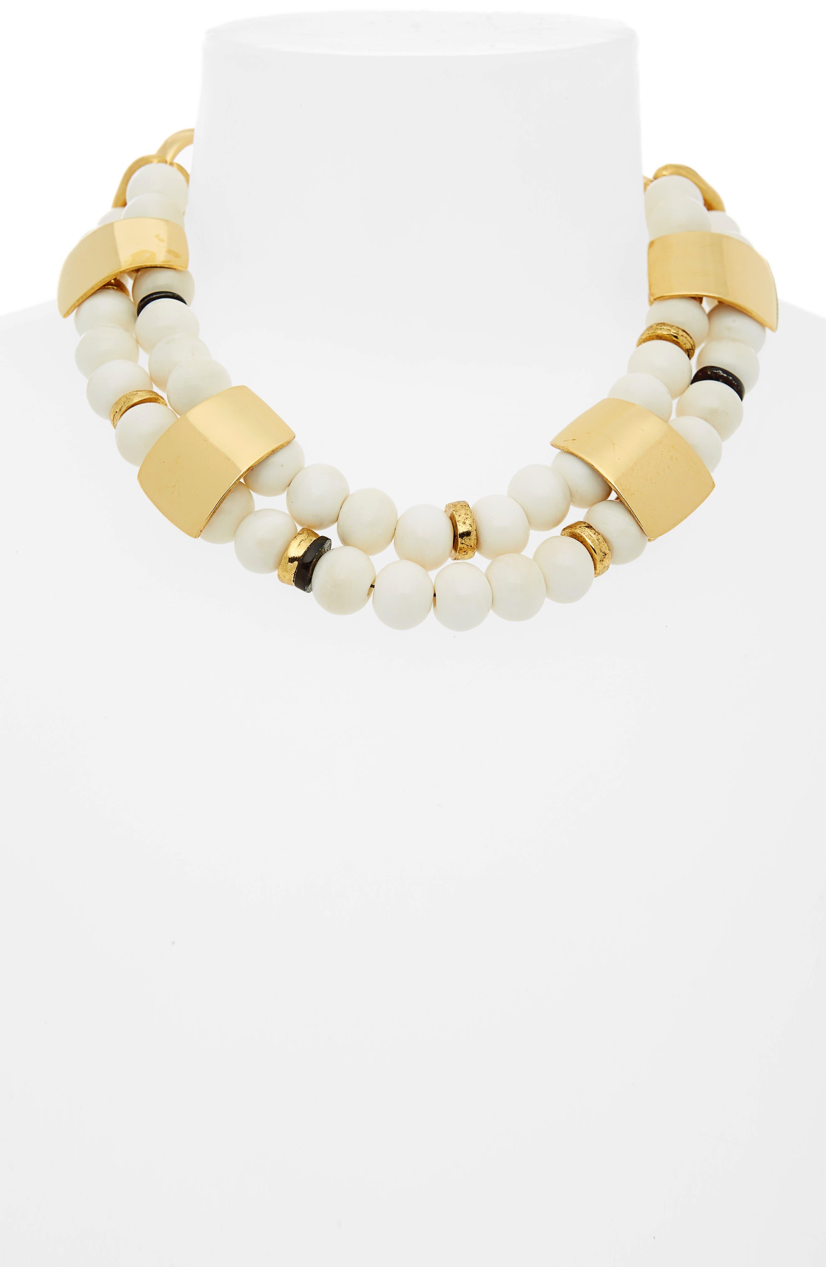 Reflection Collar Necklace,                             Alternate thumbnail 2, color,                             900