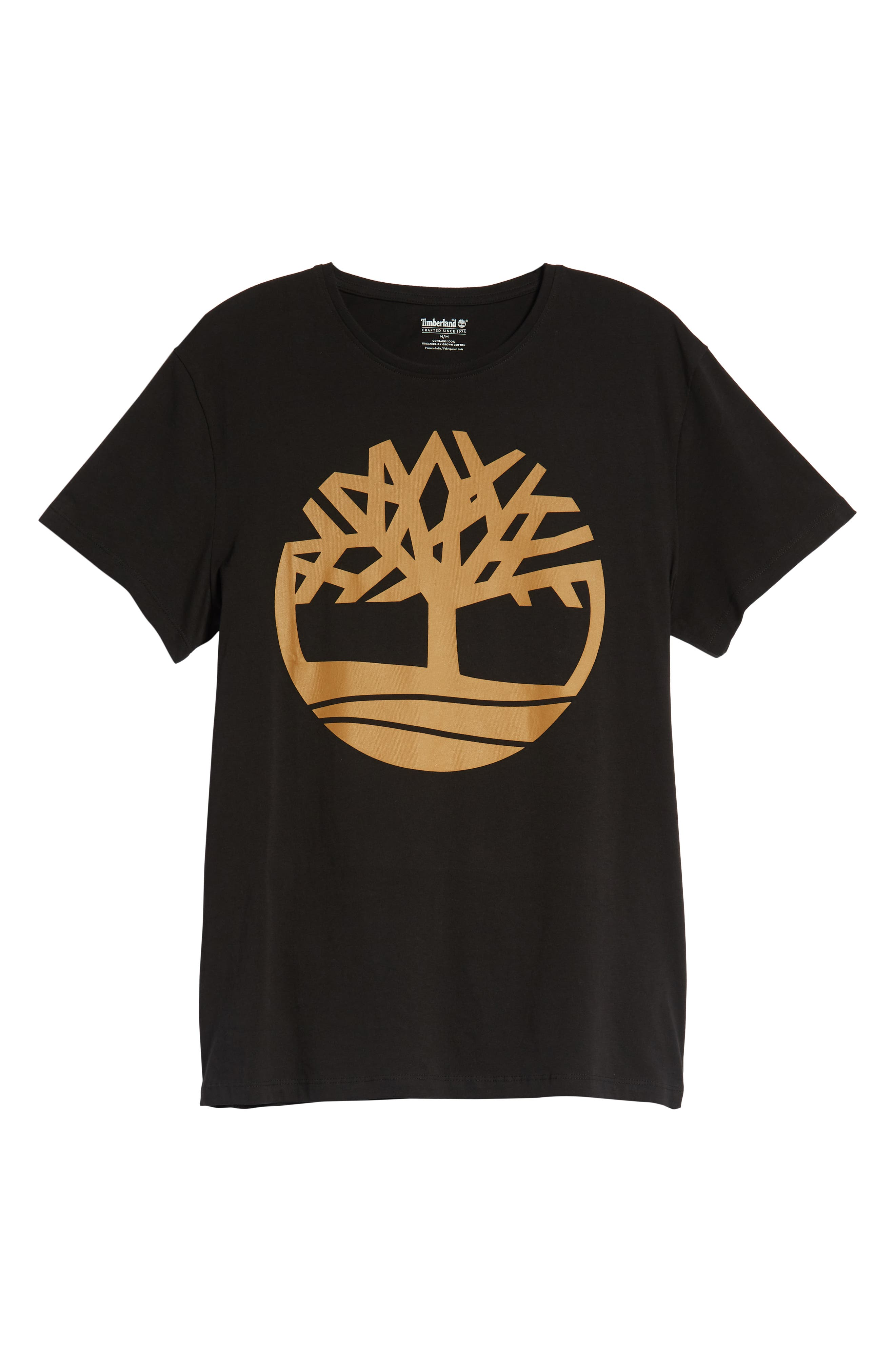 Core Logo T-Shirt,                             Alternate thumbnail 6, color,                             BLACK TREE