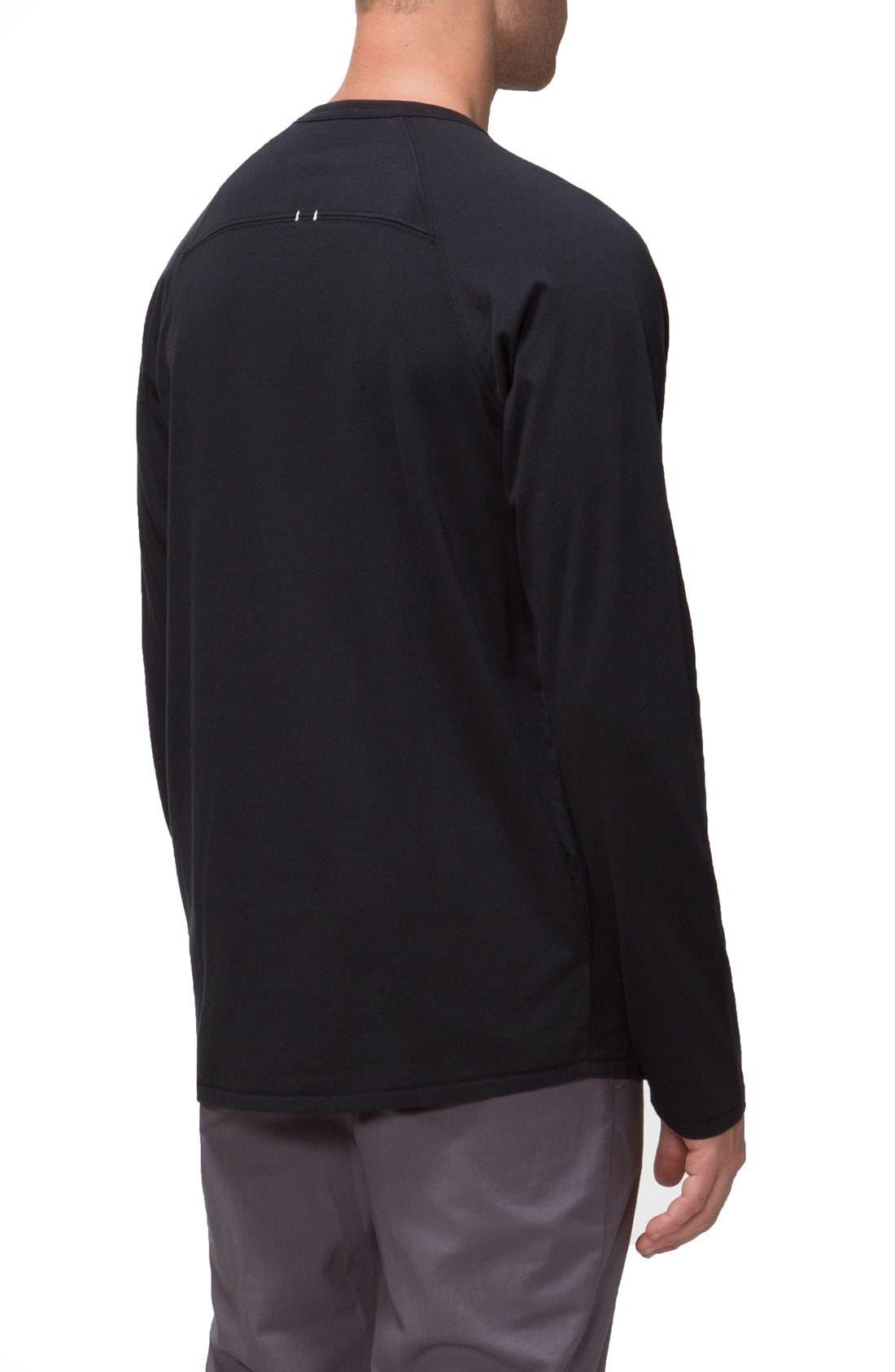 'Covert II' Raglan Long Sleeve T-Shirt,                             Alternate thumbnail 4, color,