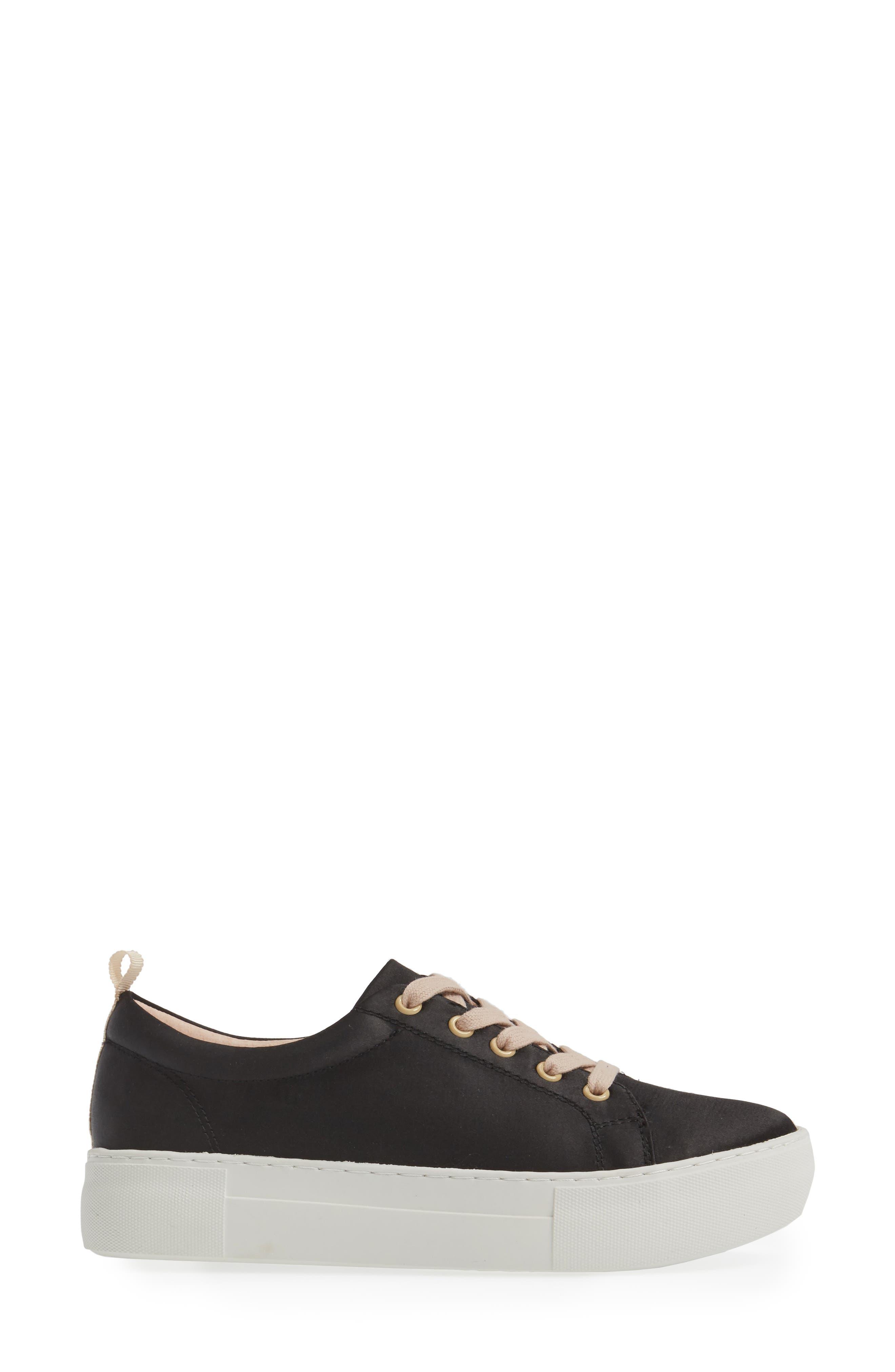Amber Platform Sneaker,                             Alternate thumbnail 3, color,                             005