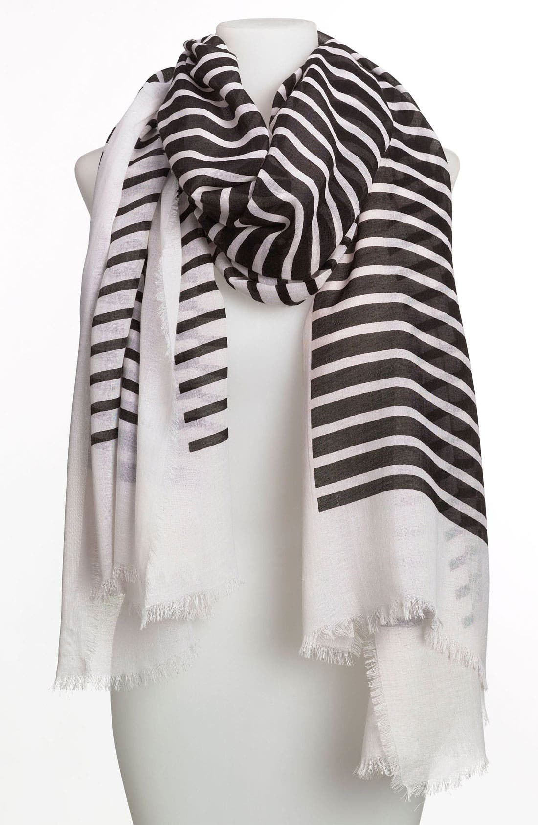 'Double Take' Scarf,                         Main,                         color, 001