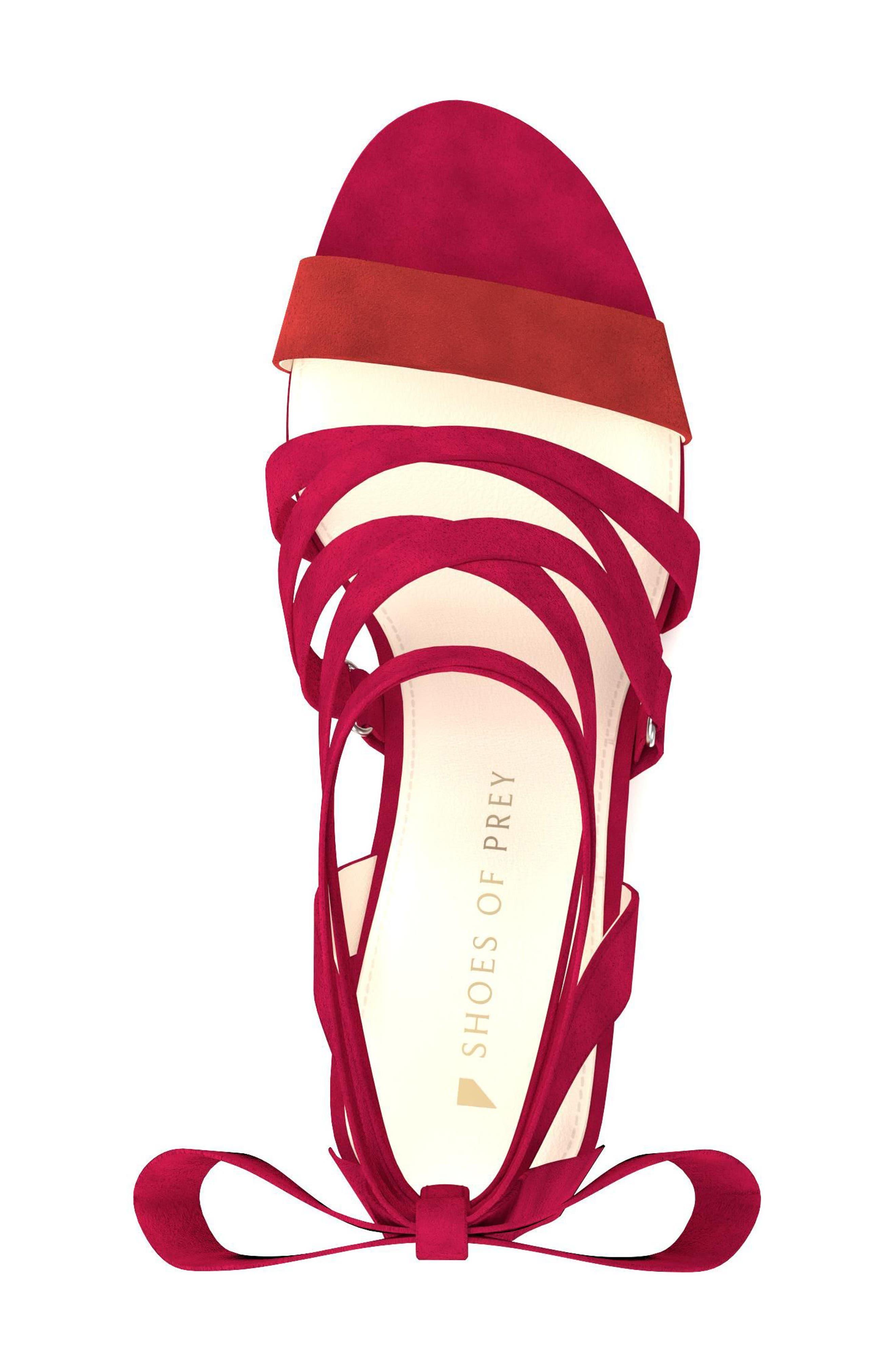 Cross Strap Sandal,                             Alternate thumbnail 15, color,