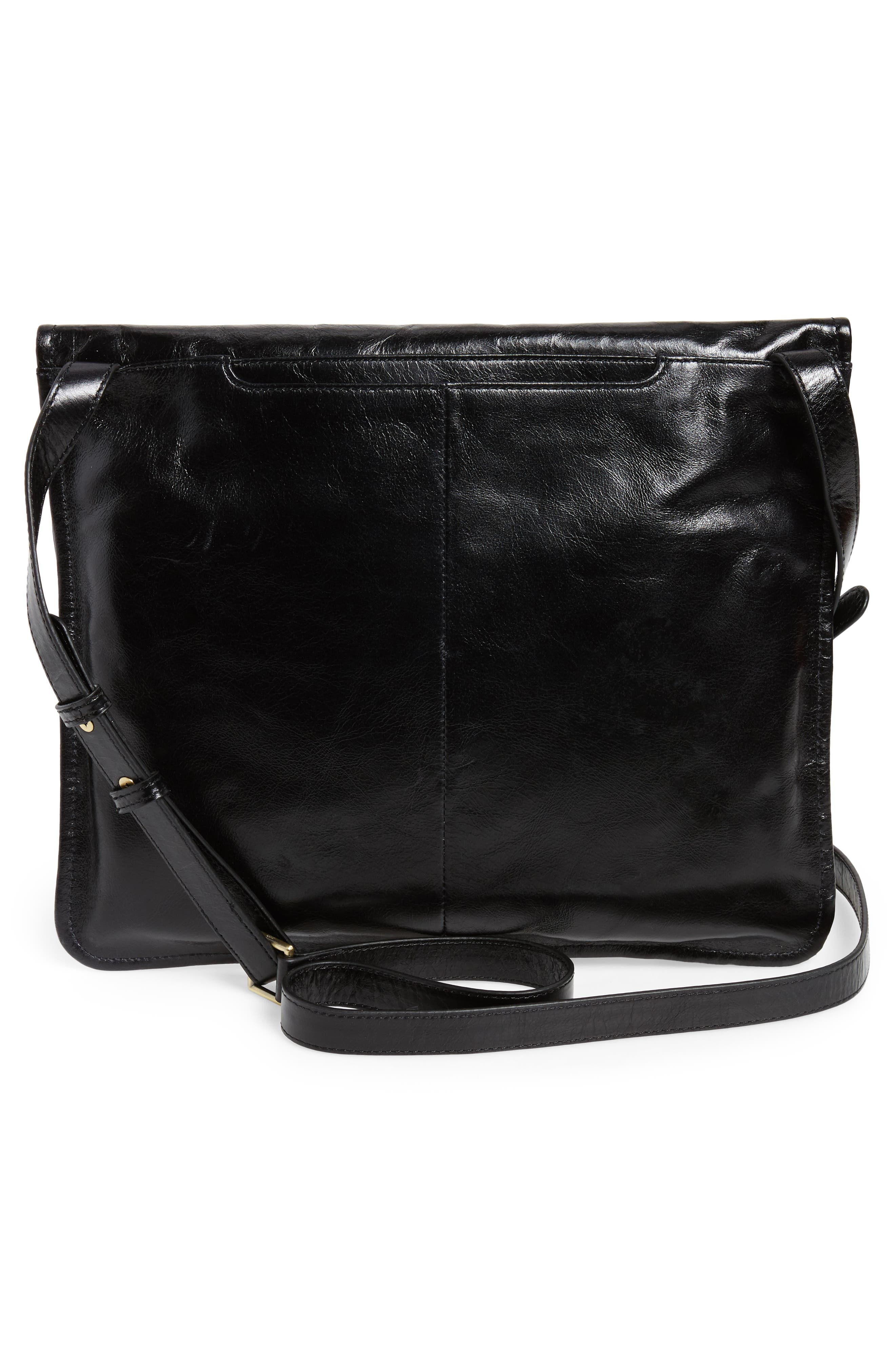 Vista Calfskin Leather Messenger Bag,                             Alternate thumbnail 9, color,