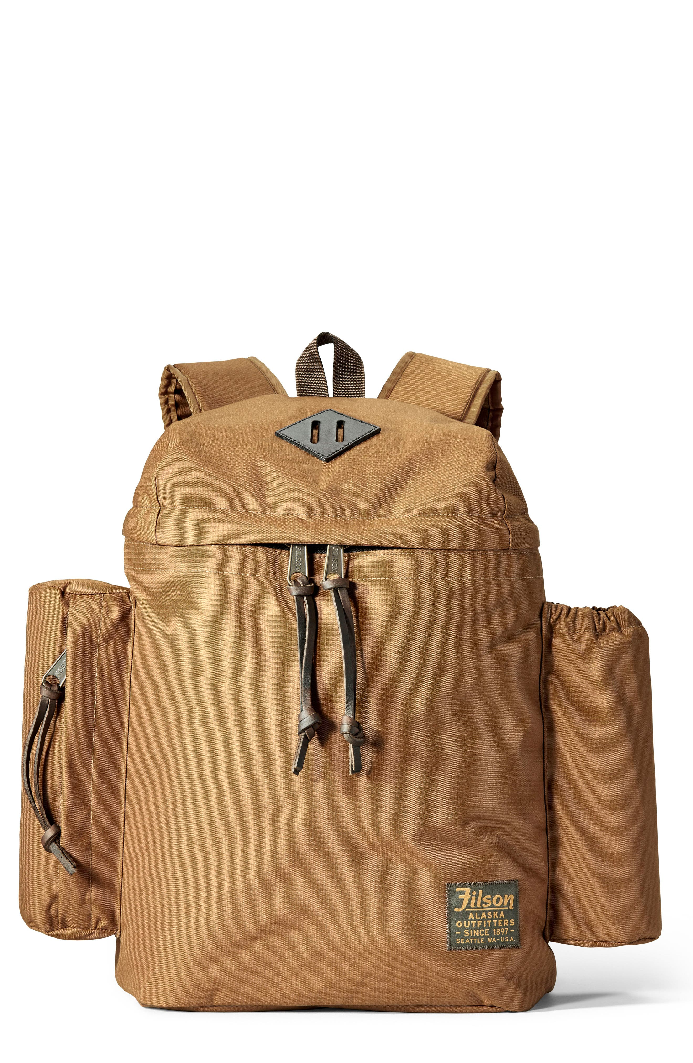 Field Backpack,                             Main thumbnail 1, color,                             WHISKEY