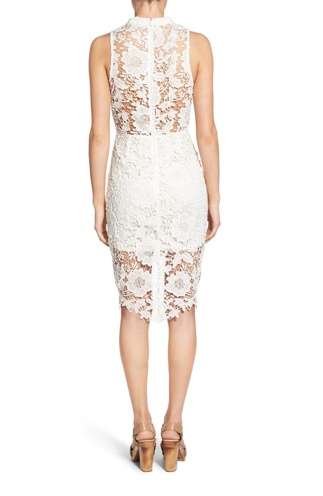 'Samantha' Lace Dress,                             Alternate thumbnail 31, color,