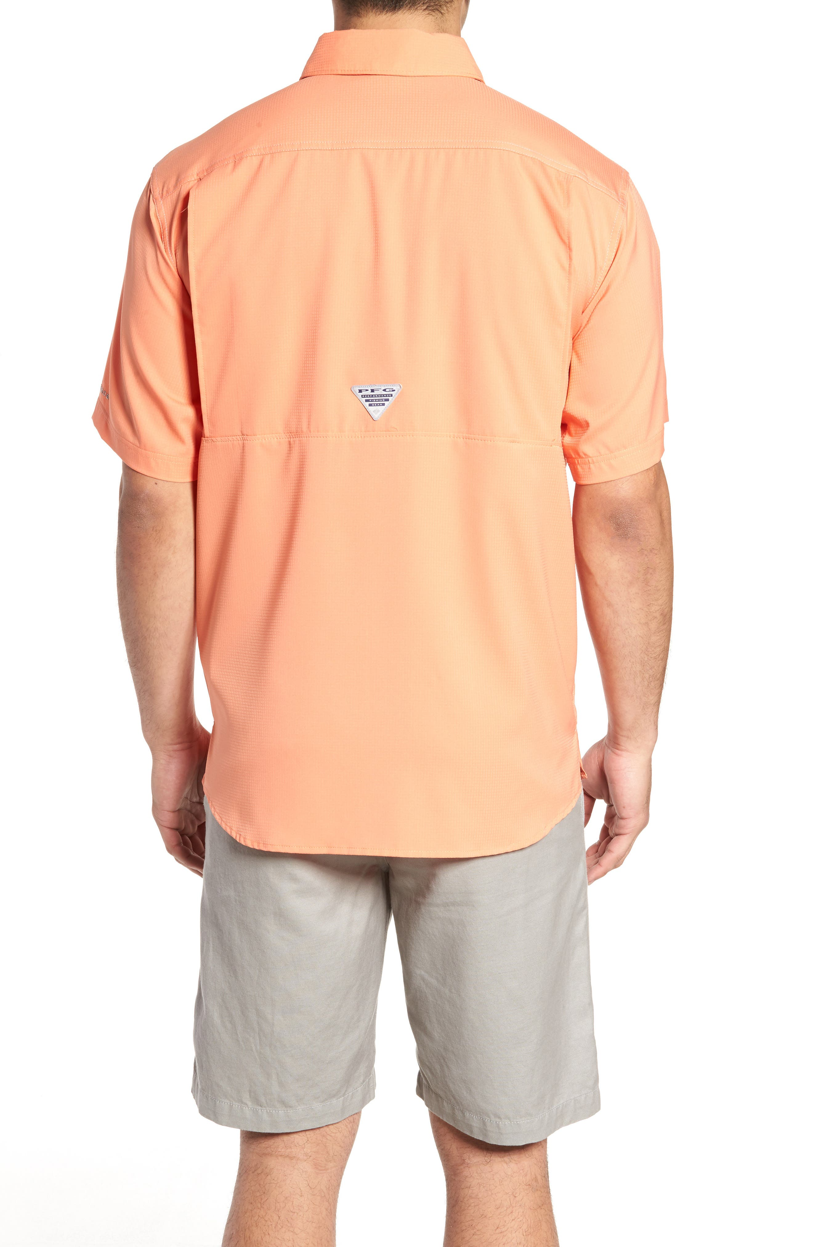 PFG Low Drag Offshore Woven Shirt,                             Alternate thumbnail 10, color,