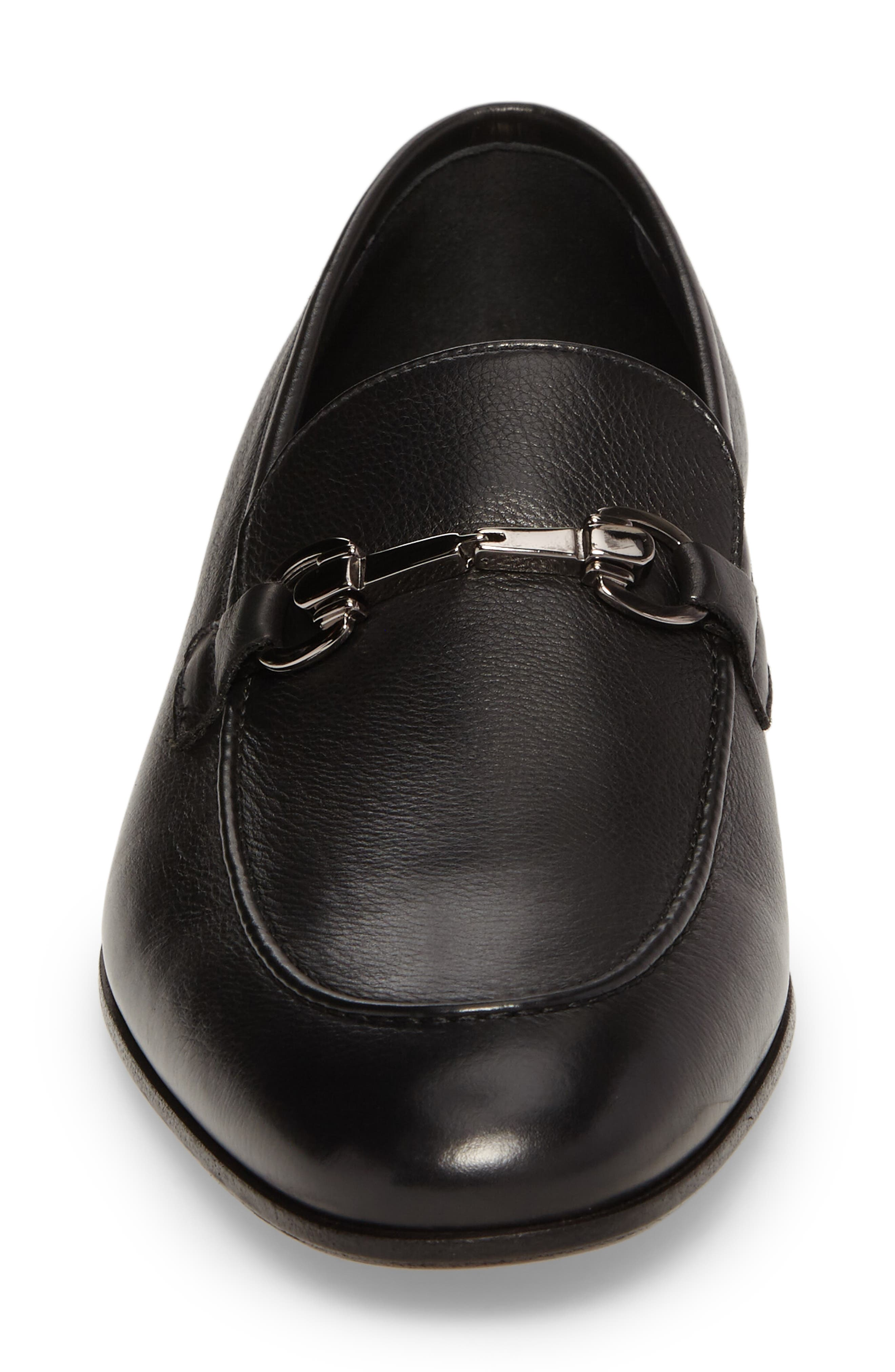 Brianza Bit Loafer,                             Alternate thumbnail 4, color,                             001