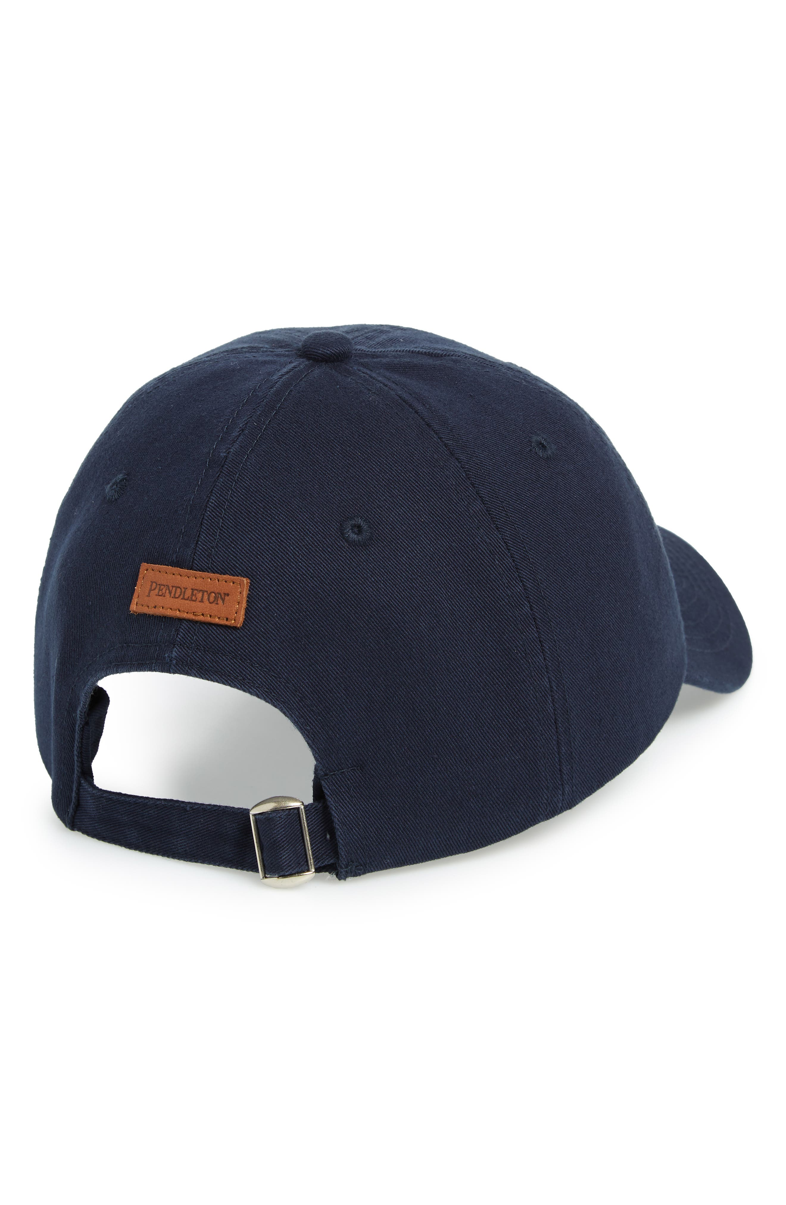 Tucson Embroidered Cap,                             Alternate thumbnail 2, color,                             NAVY
