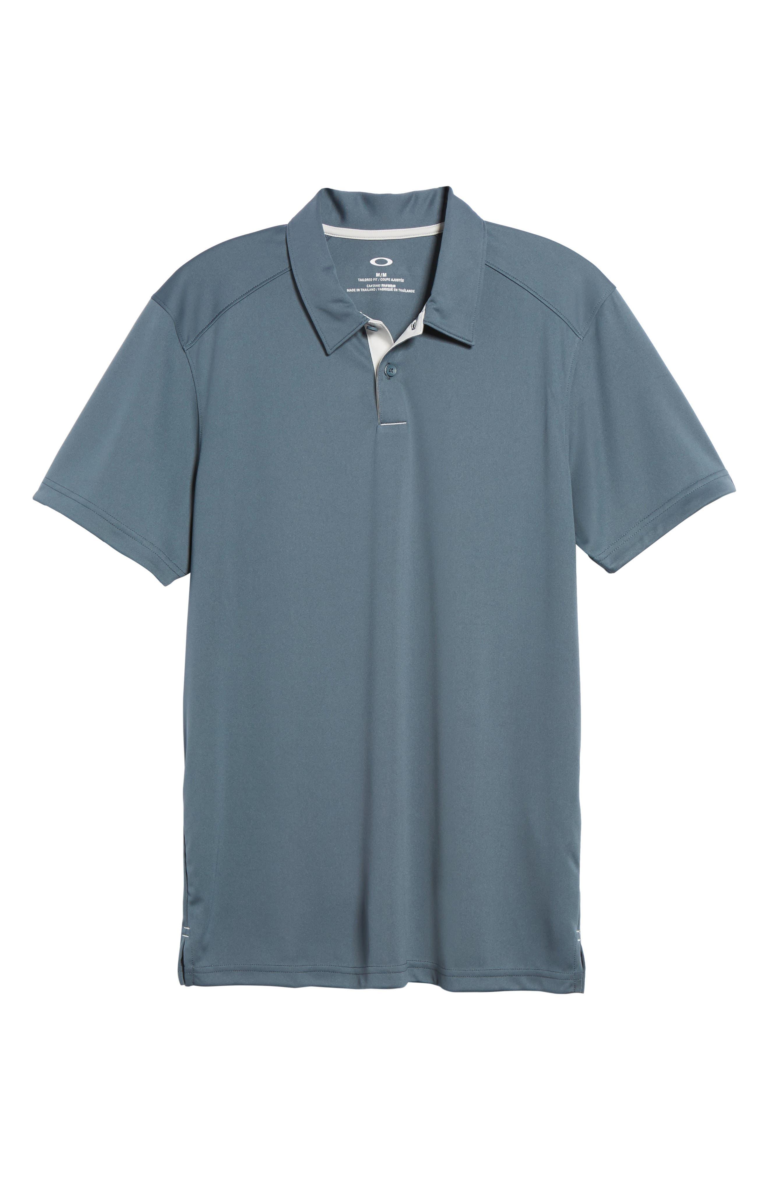 Divisional Polo Shirt,                             Alternate thumbnail 6, color,                             DARK SLATE