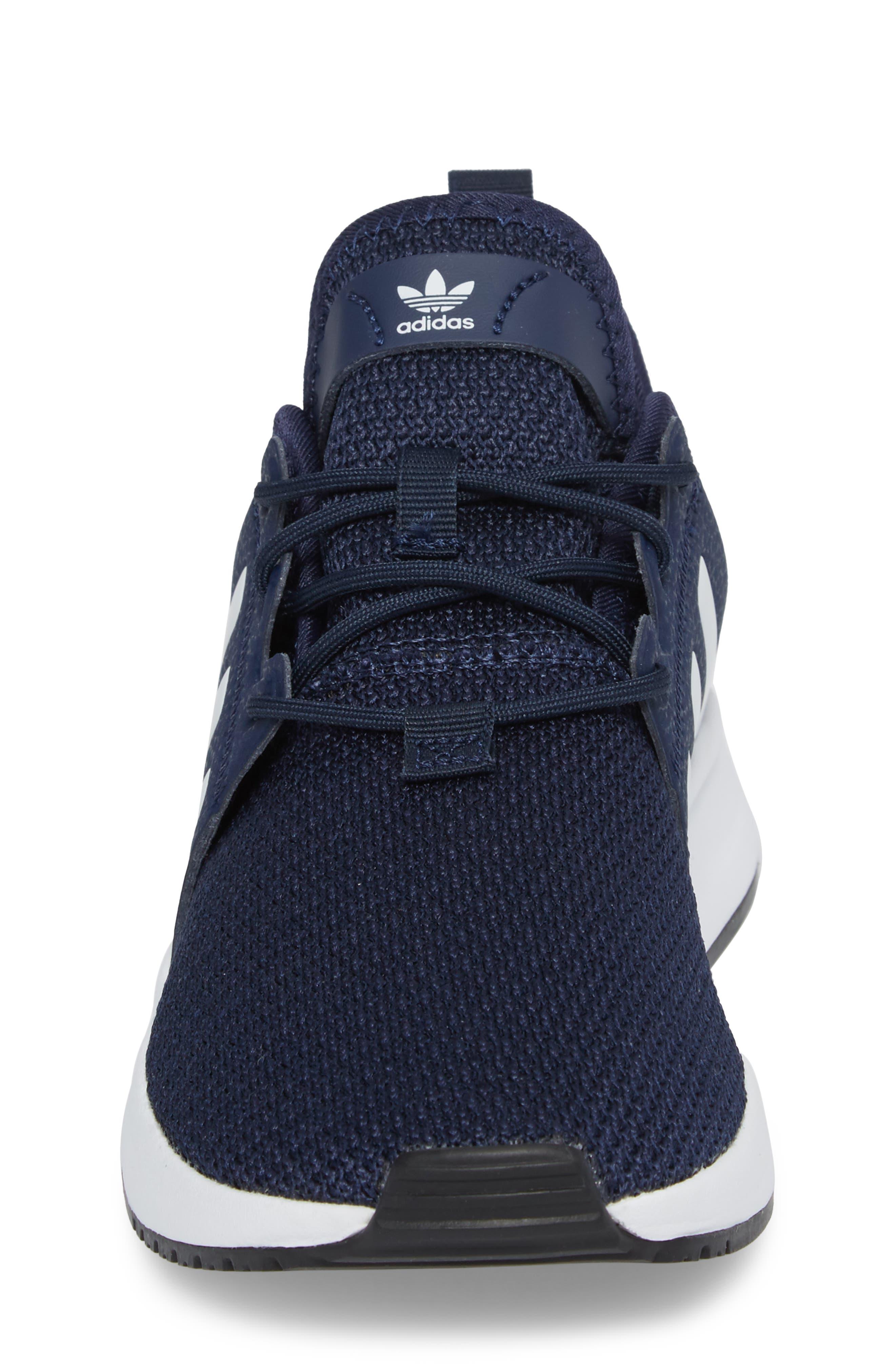 X_PLR Sneaker,                             Alternate thumbnail 4, color,                             COLLEGIATE NAVY/ WHITE