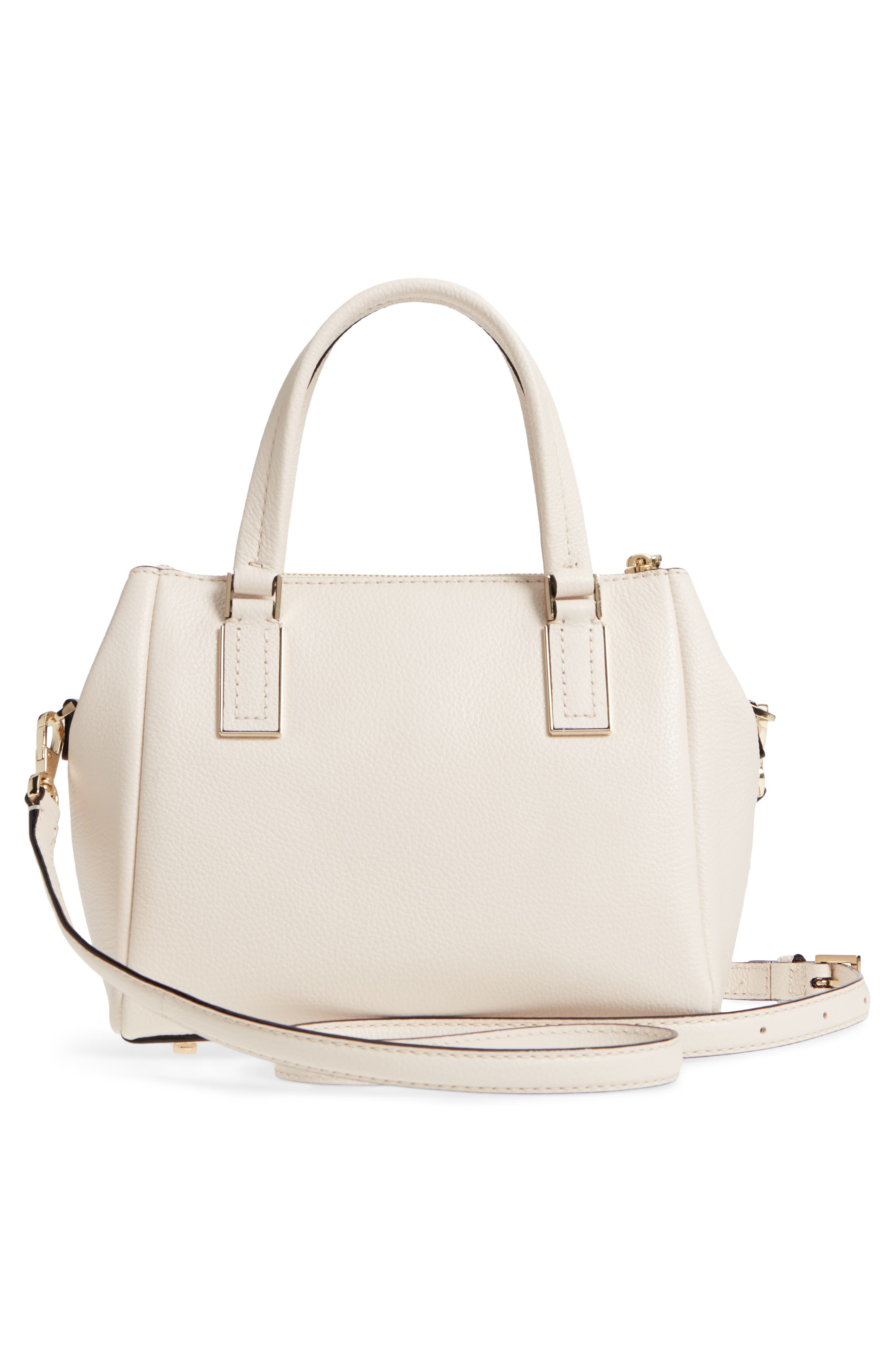 kingston drive - small alena leather satchel,                             Alternate thumbnail 12, color,