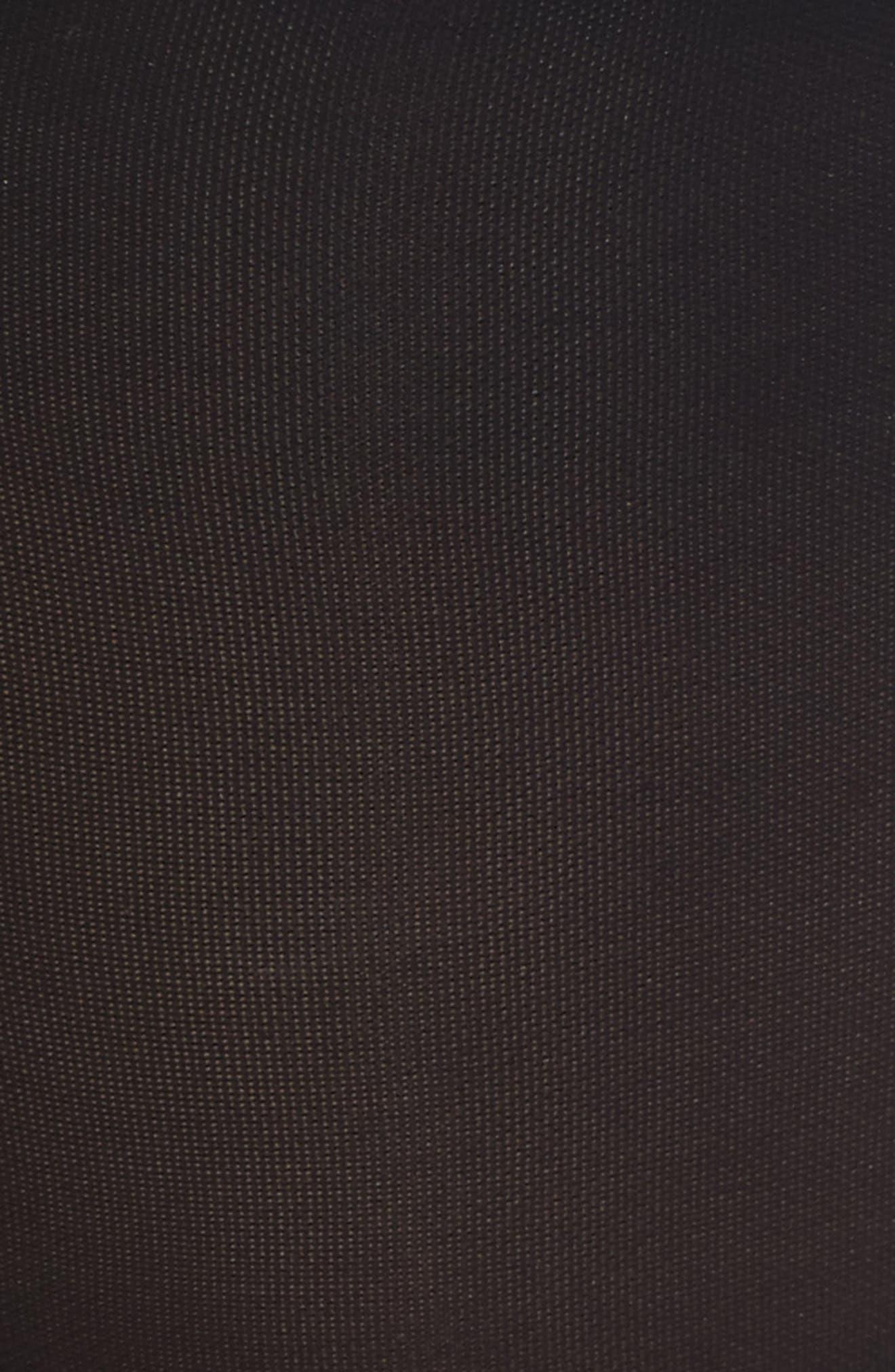 Compression Knee Highs,                             Alternate thumbnail 3, color,                             BLACK