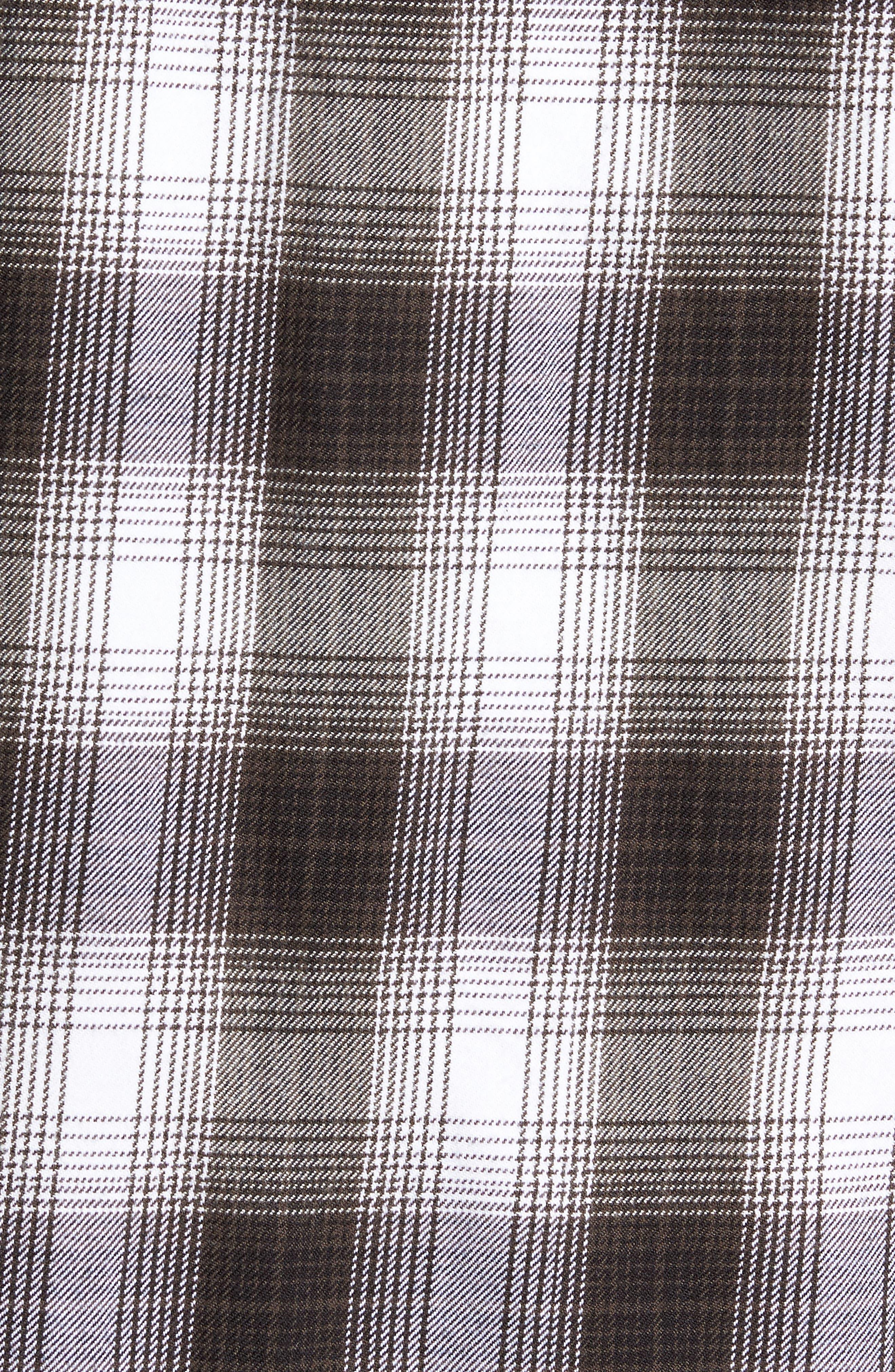 Kemper Plaid Woven Shirt,                             Alternate thumbnail 5, color,                             002