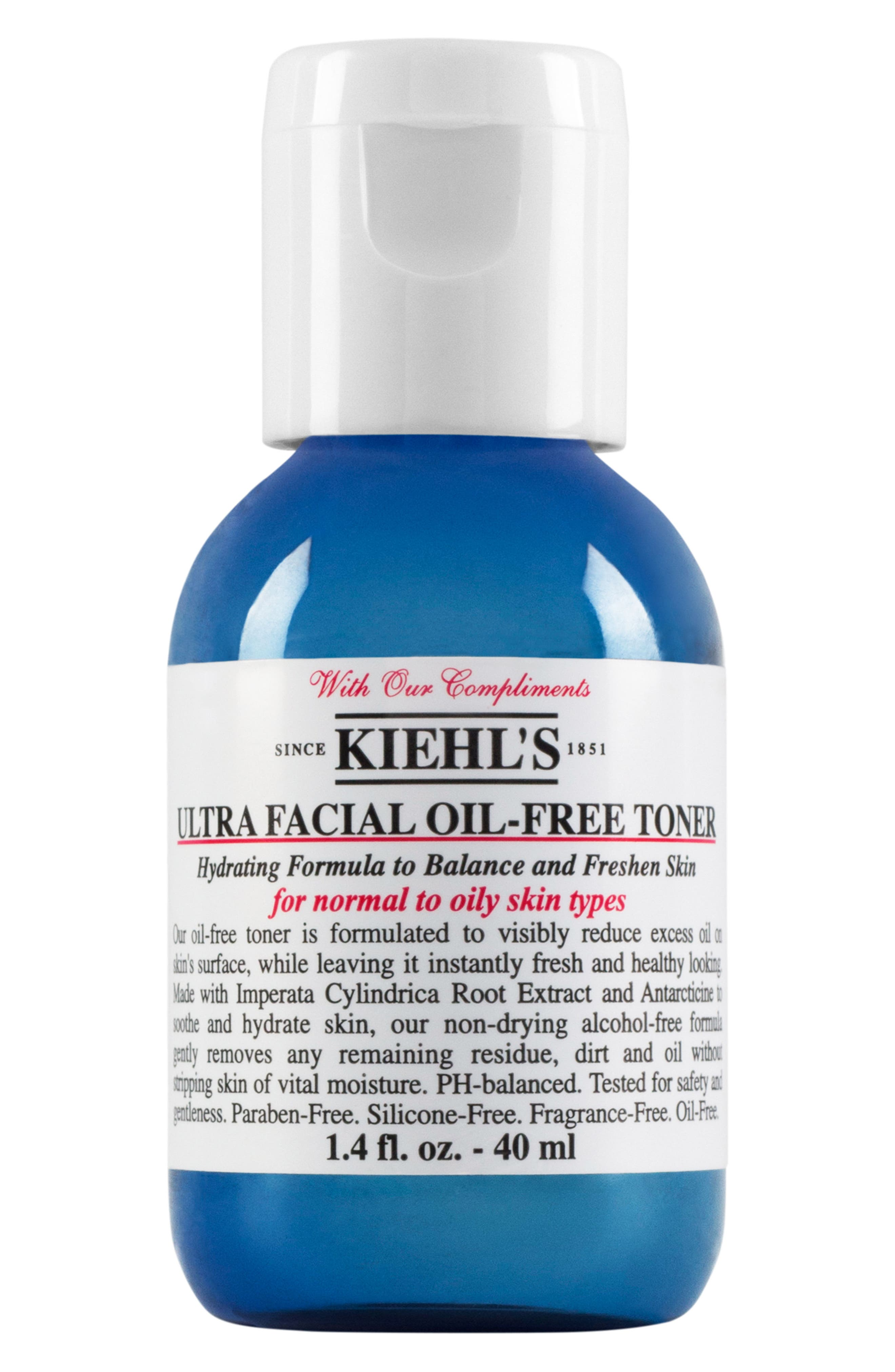 'Ultra Facial' Oil-Free Toner,                             Alternate thumbnail 2, color,                             NO COLOR