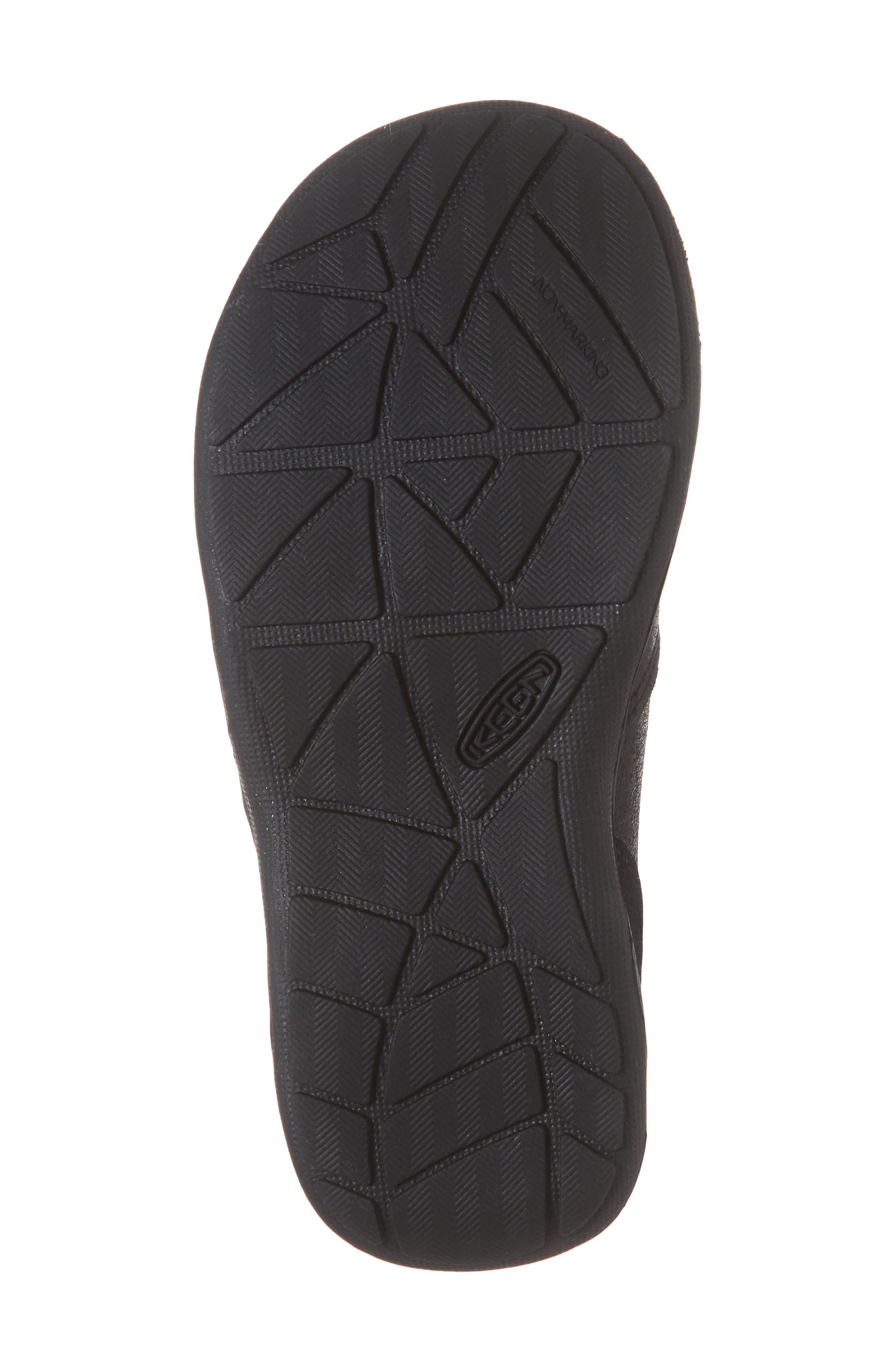 Jasper Slip-On Sneaker,                             Alternate thumbnail 6, color,                             BLACK/ RAVEN