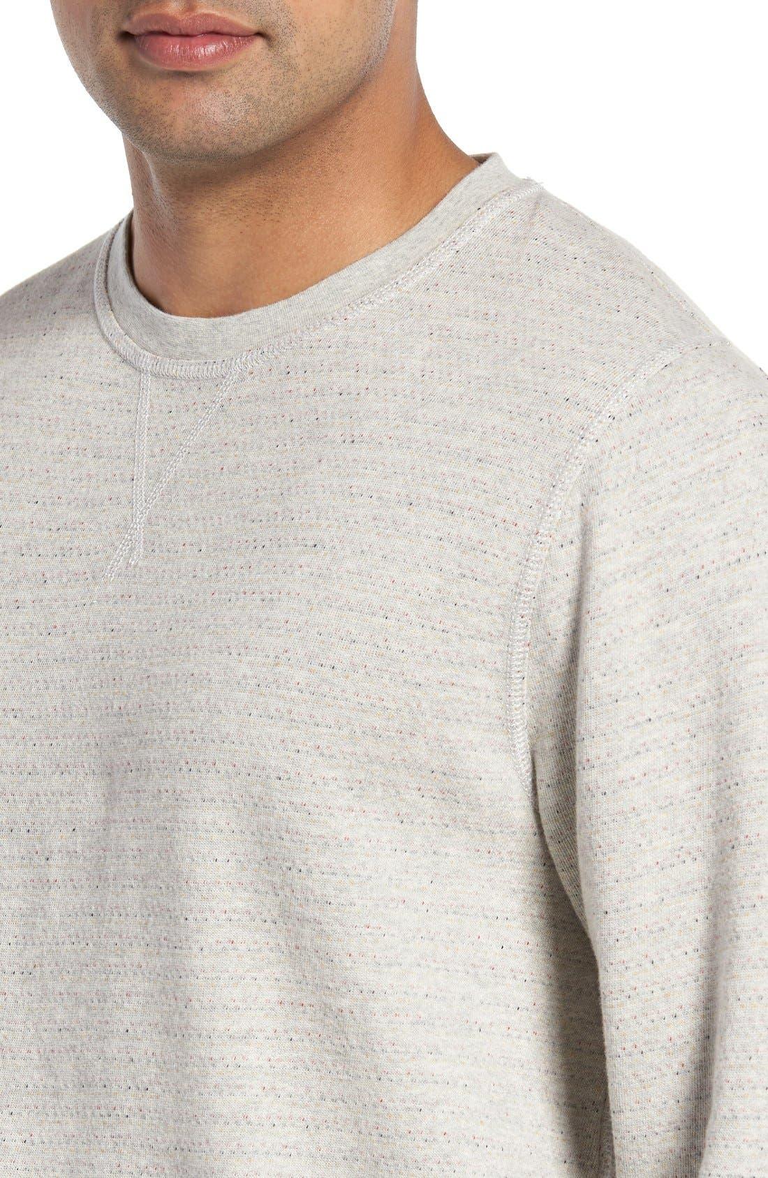 'Gleann' French Terry Crewneck Sweatshirt,                             Alternate thumbnail 5, color,                             250