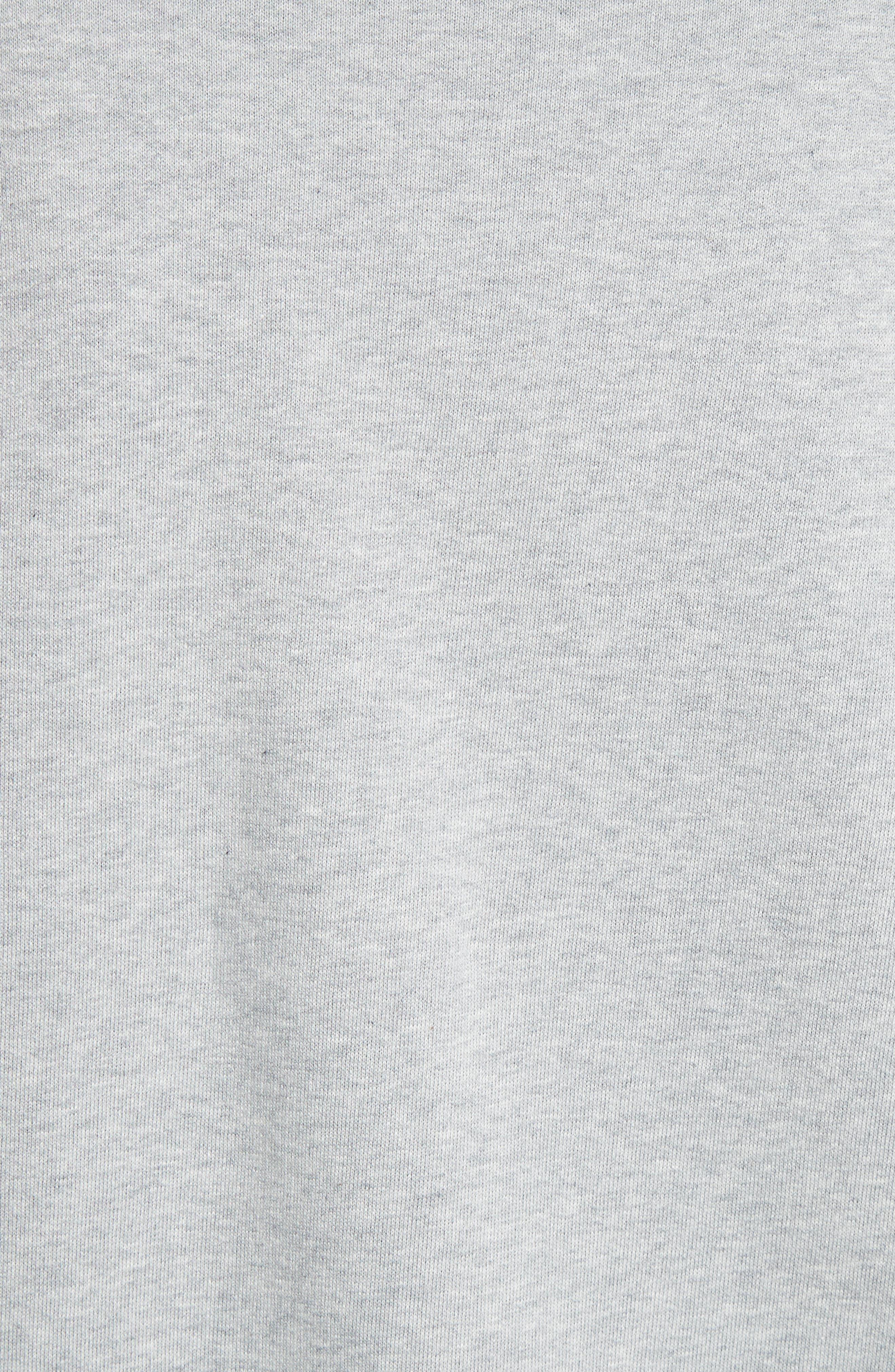Hydrangea Patch Sweatshirt,                             Alternate thumbnail 5, color,                             050