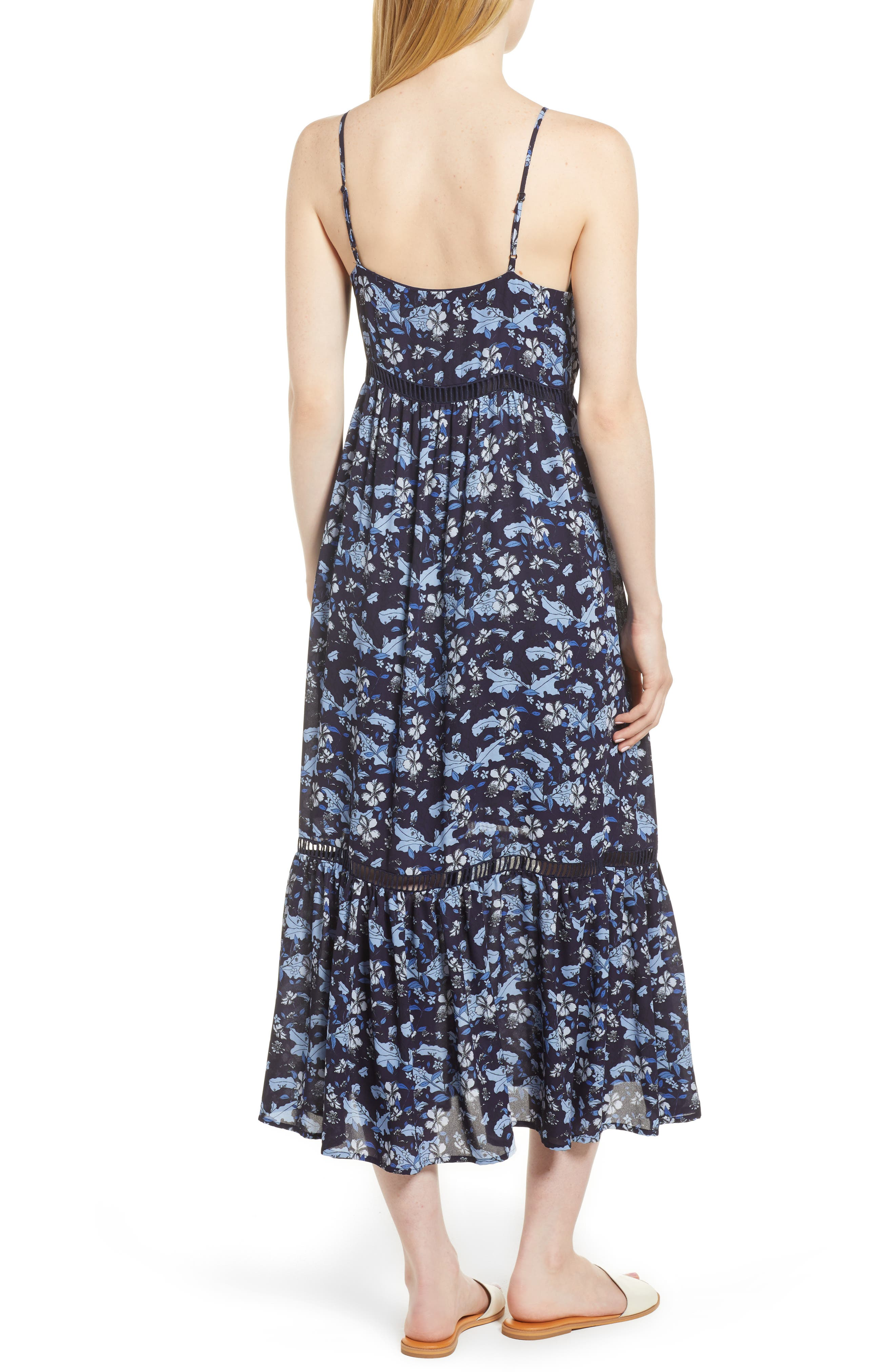 Ivy Forest Maxi Dress,                             Alternate thumbnail 4, color,
