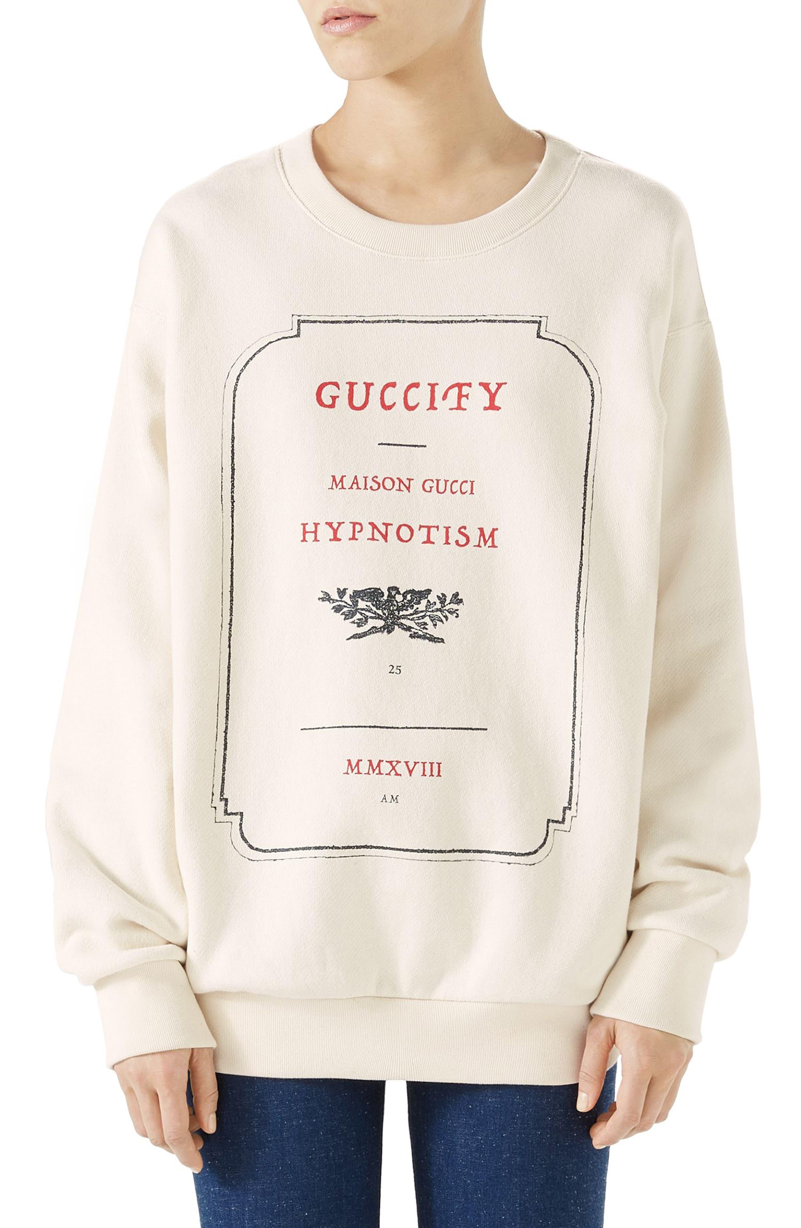 Hypnotism Graphic Sweatshirt,                         Main,                         color, 182