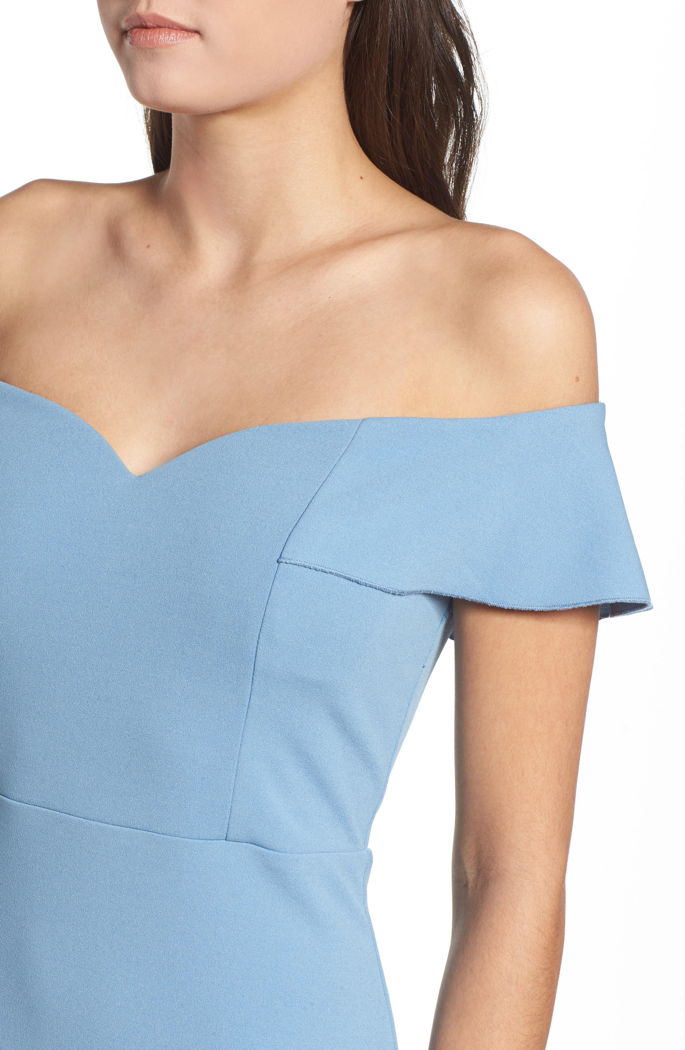 Sweetheart Midi Dress,                             Alternate thumbnail 4, color,                             400