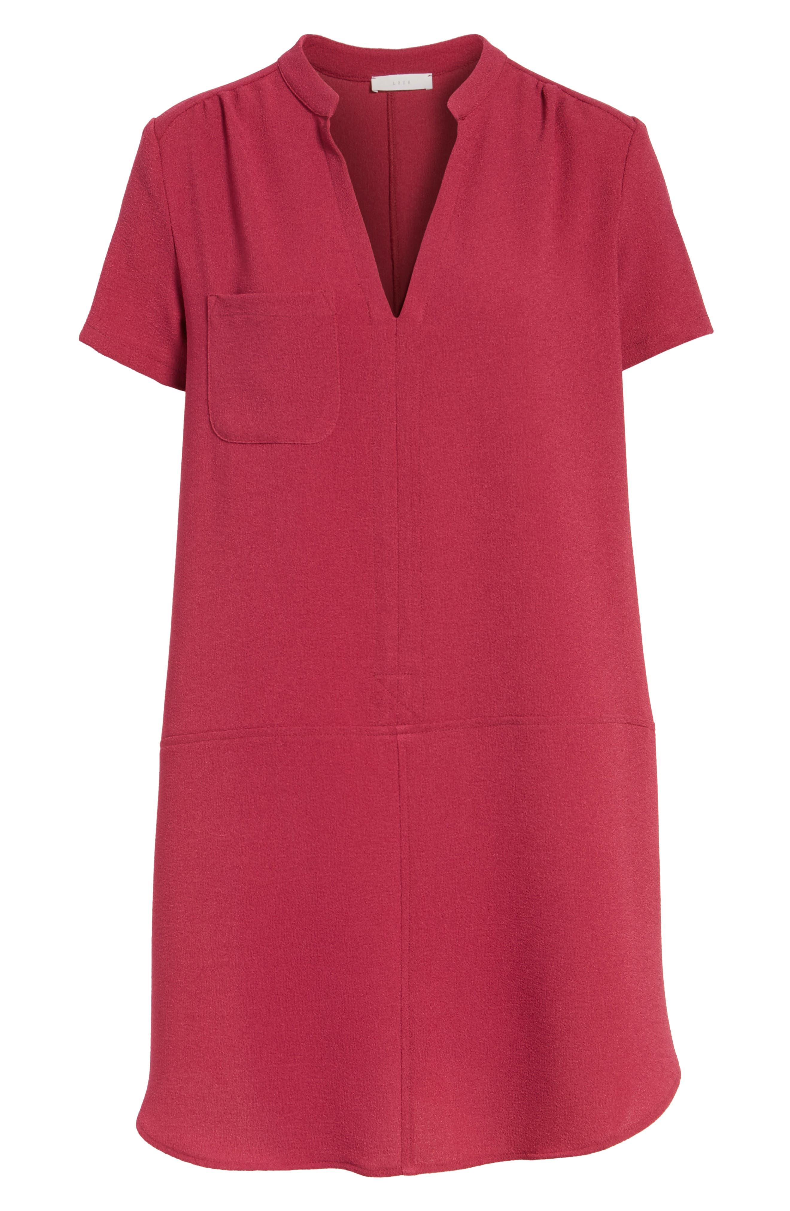 Hailey Crepe Dress,                             Alternate thumbnail 163, color,