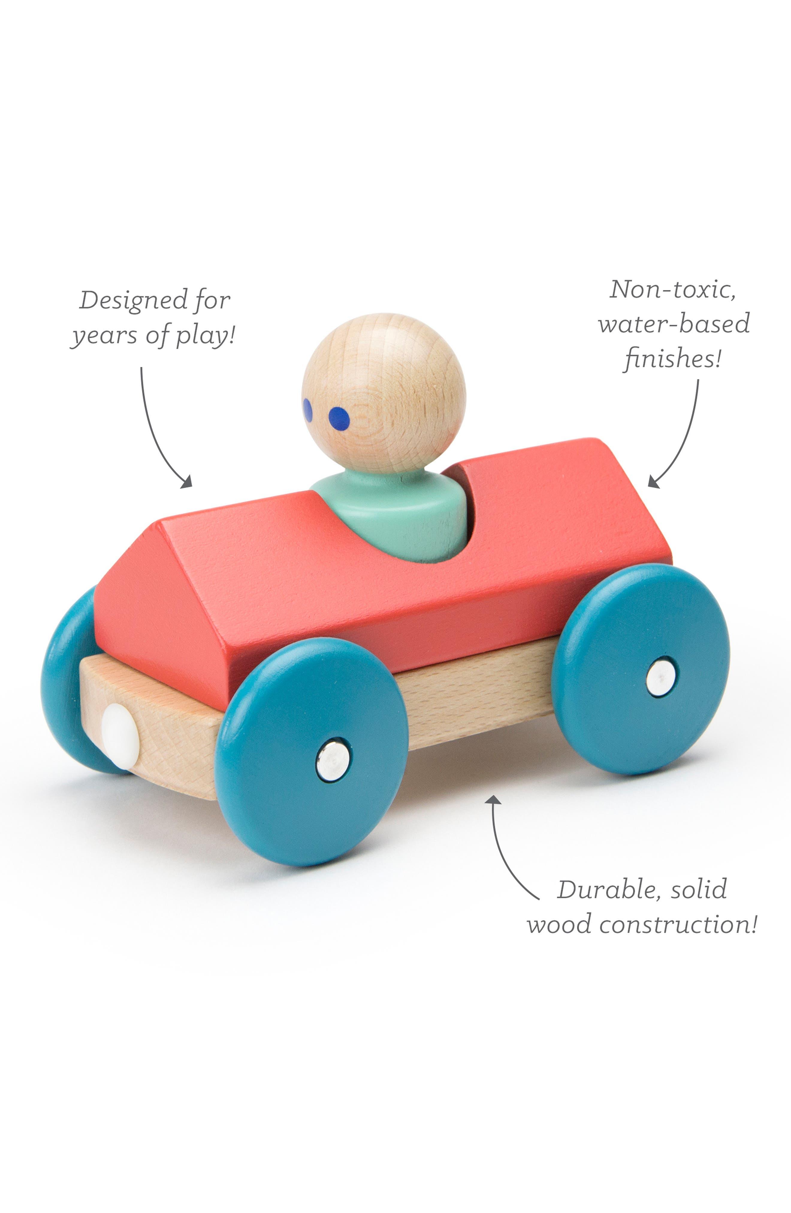 Barn Magnetic Racer Toy,                             Alternate thumbnail 3, color,                             RAINBOW