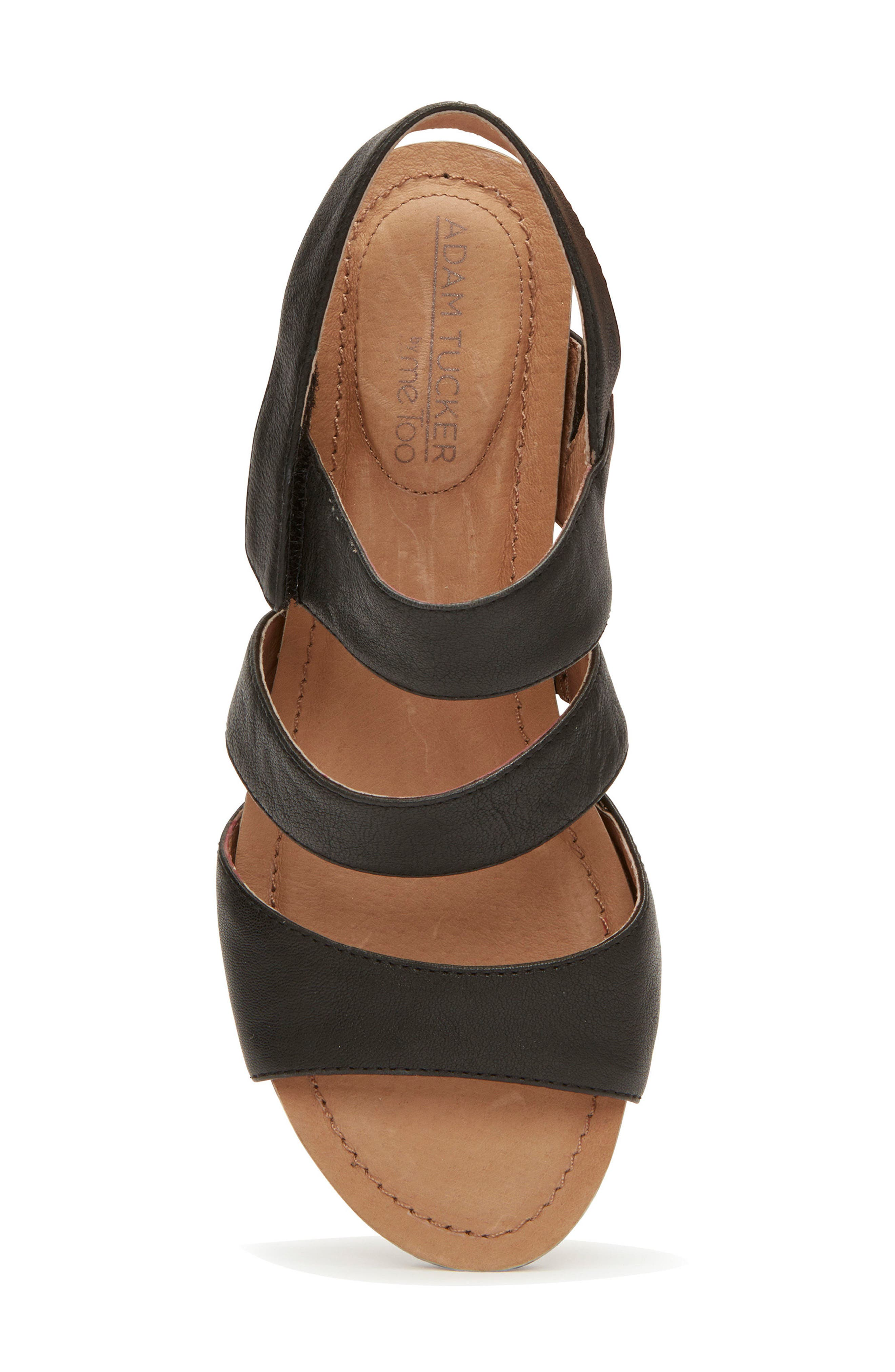 Adam Tucker Tora Wedge Sandal,                             Alternate thumbnail 9, color,