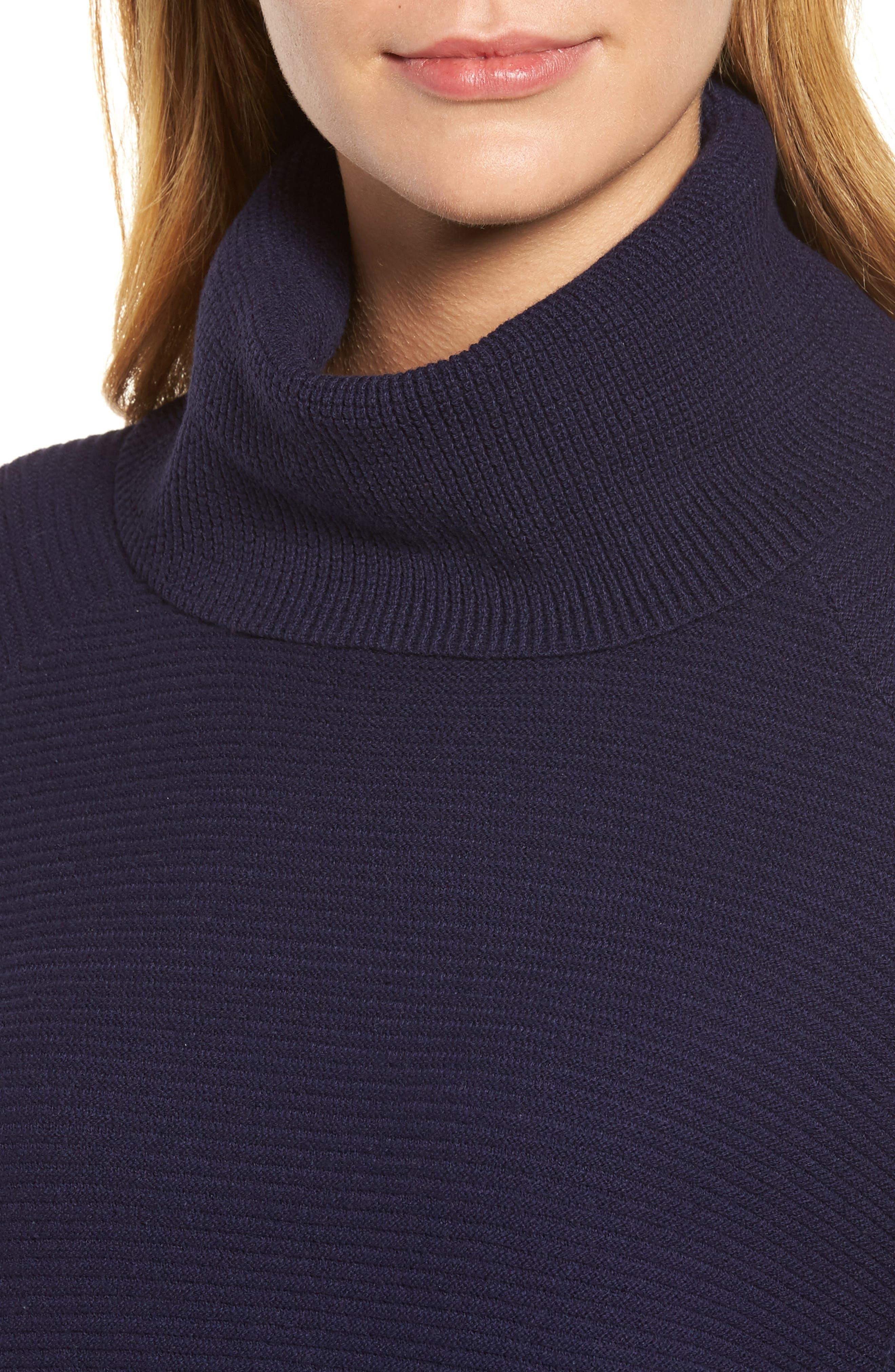 Cowl Neck Shirttail Hem Sweater,                             Alternate thumbnail 11, color,