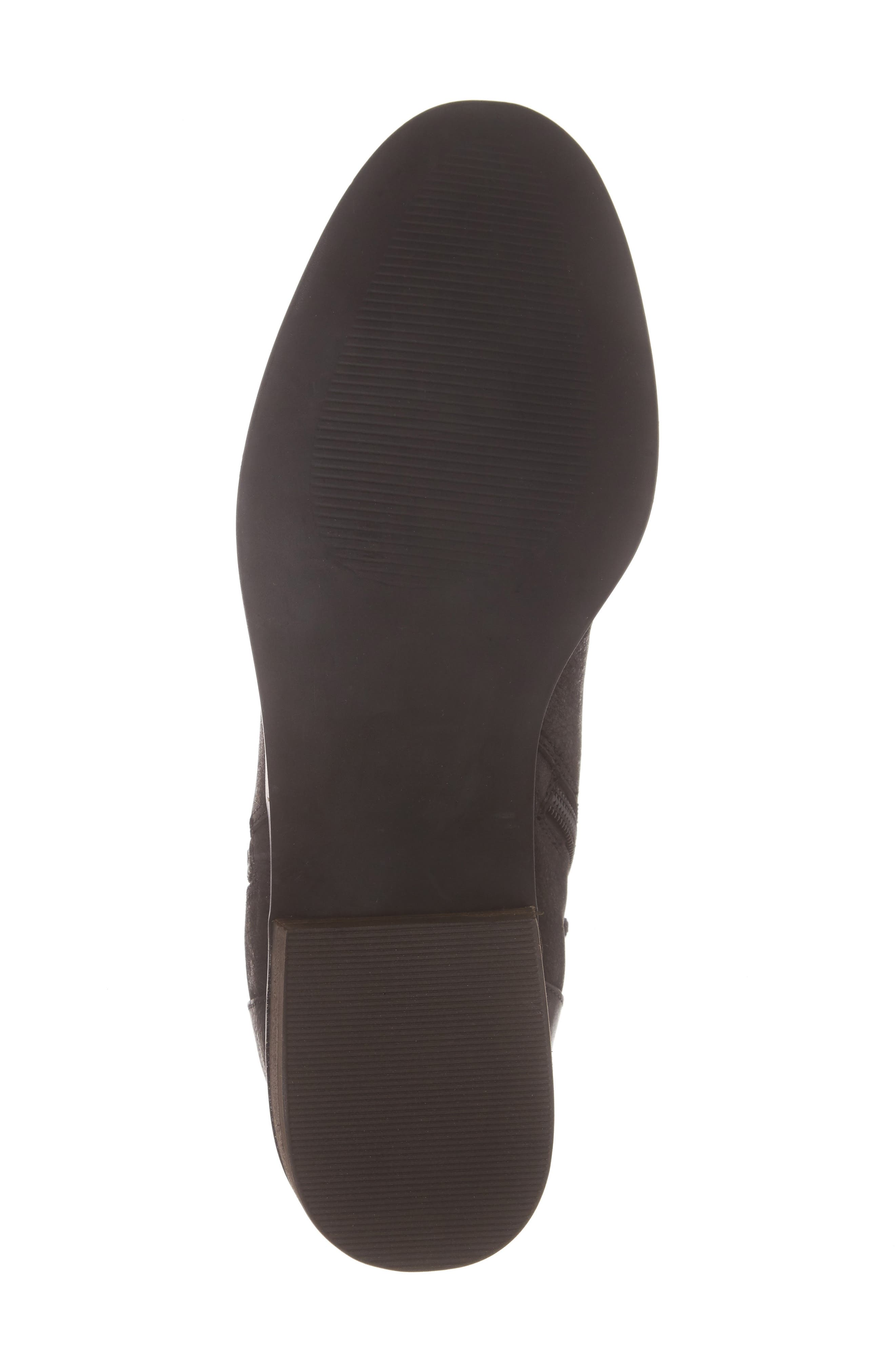 Abbott Bootie,                             Alternate thumbnail 6, color,                             BLACK LEATHER