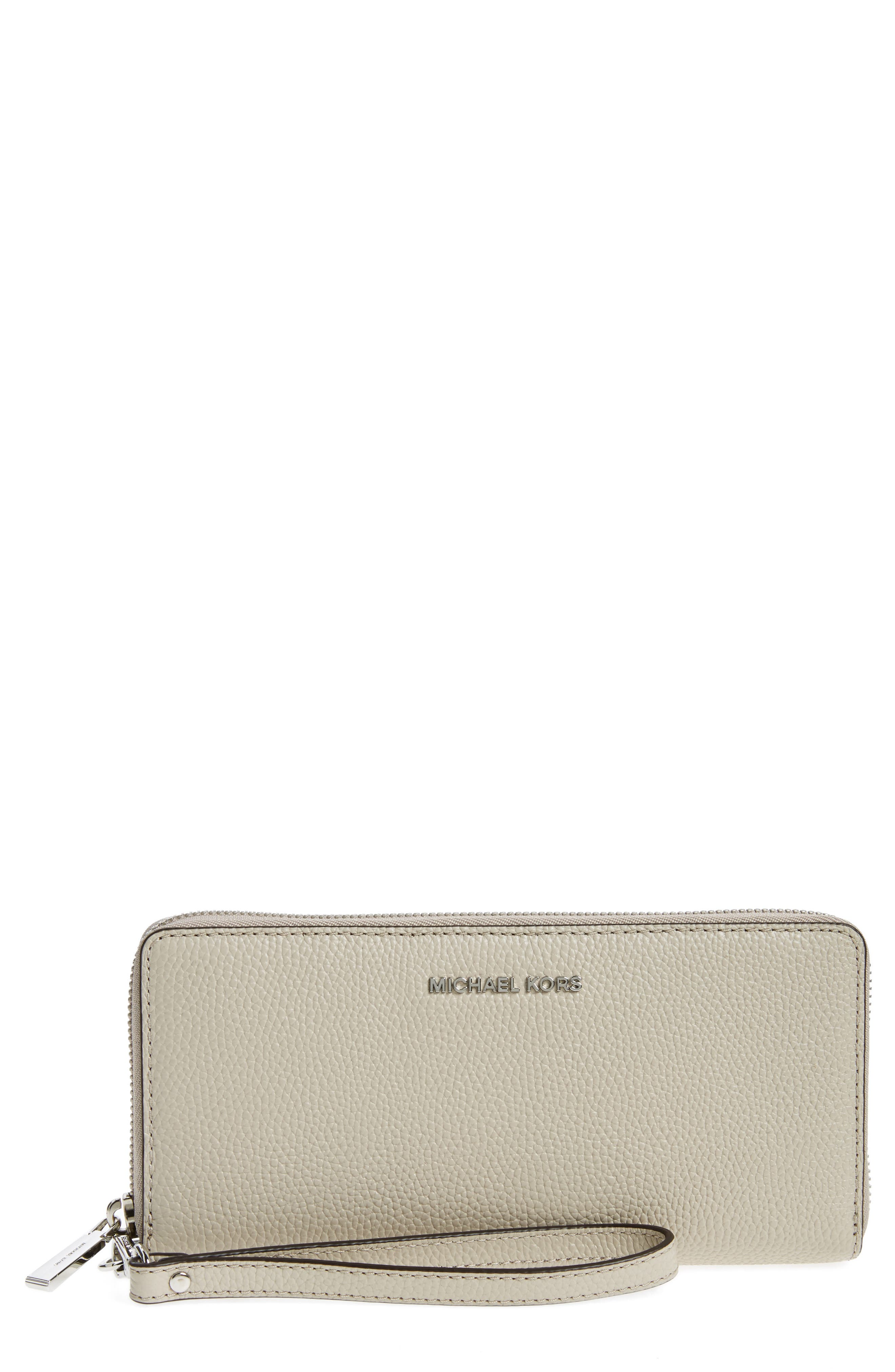 'Mercer' Leather Continental Wallet,                             Main thumbnail 5, color,
