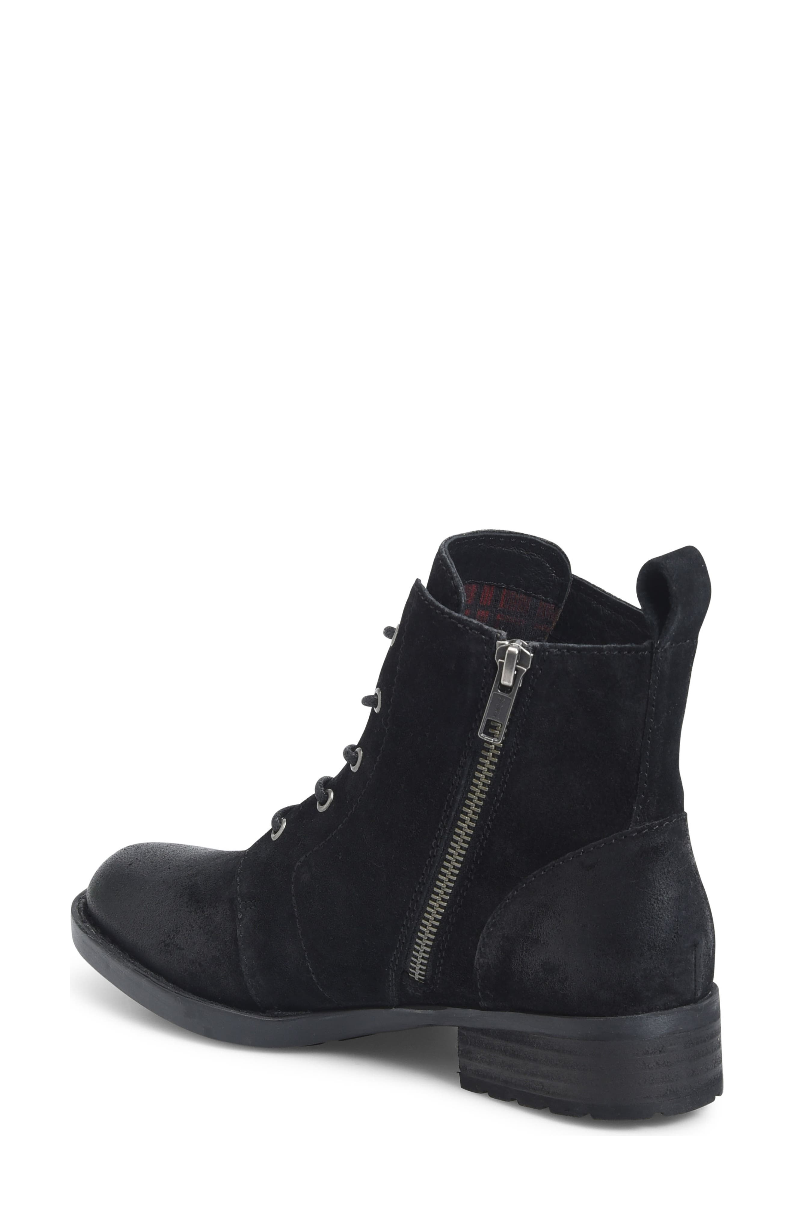Troye Vintage Lace-Up Boot,                             Alternate thumbnail 2, color,                             002