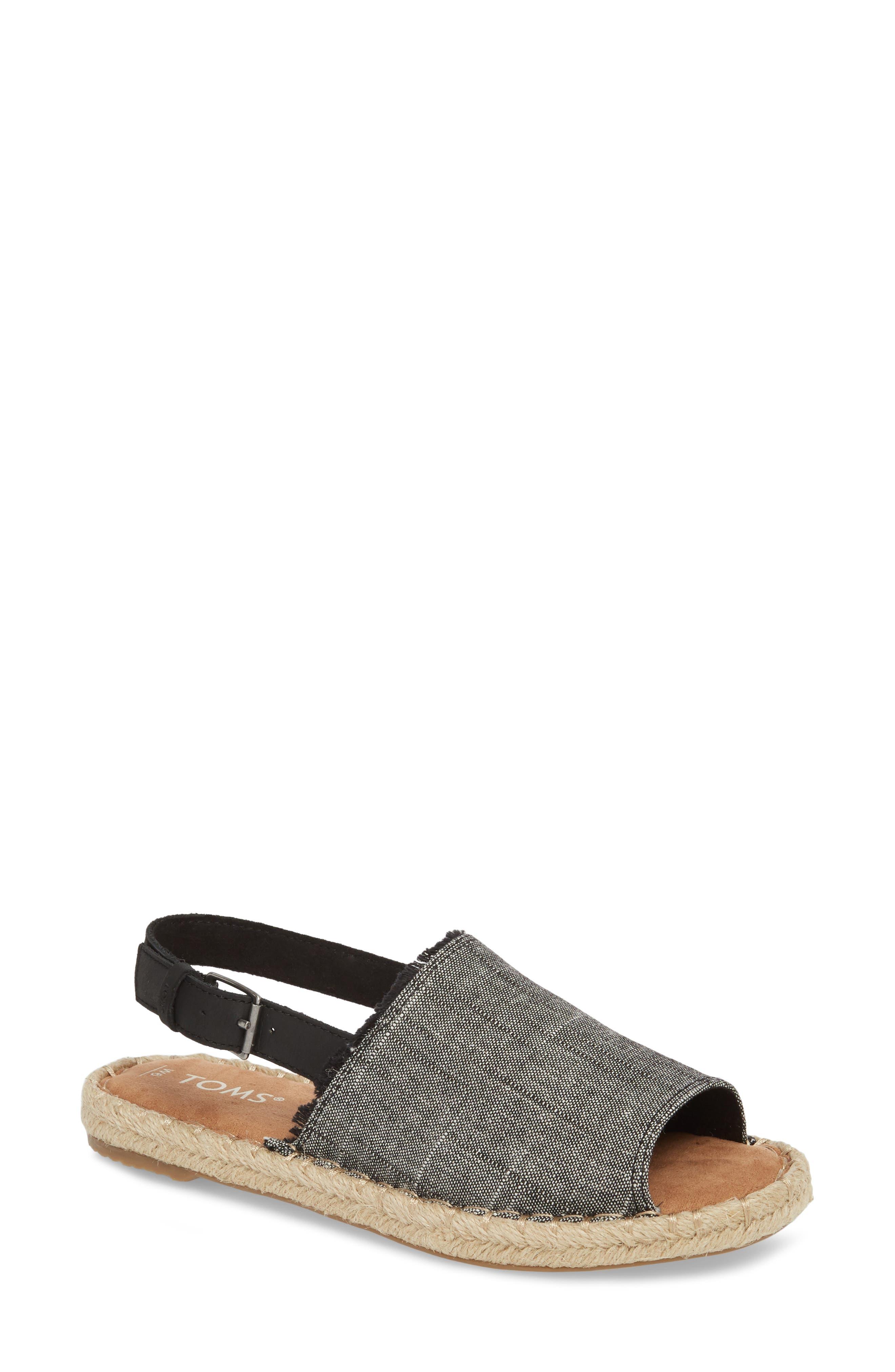 Clara Slingback Sandal,                         Main,                         color, 002