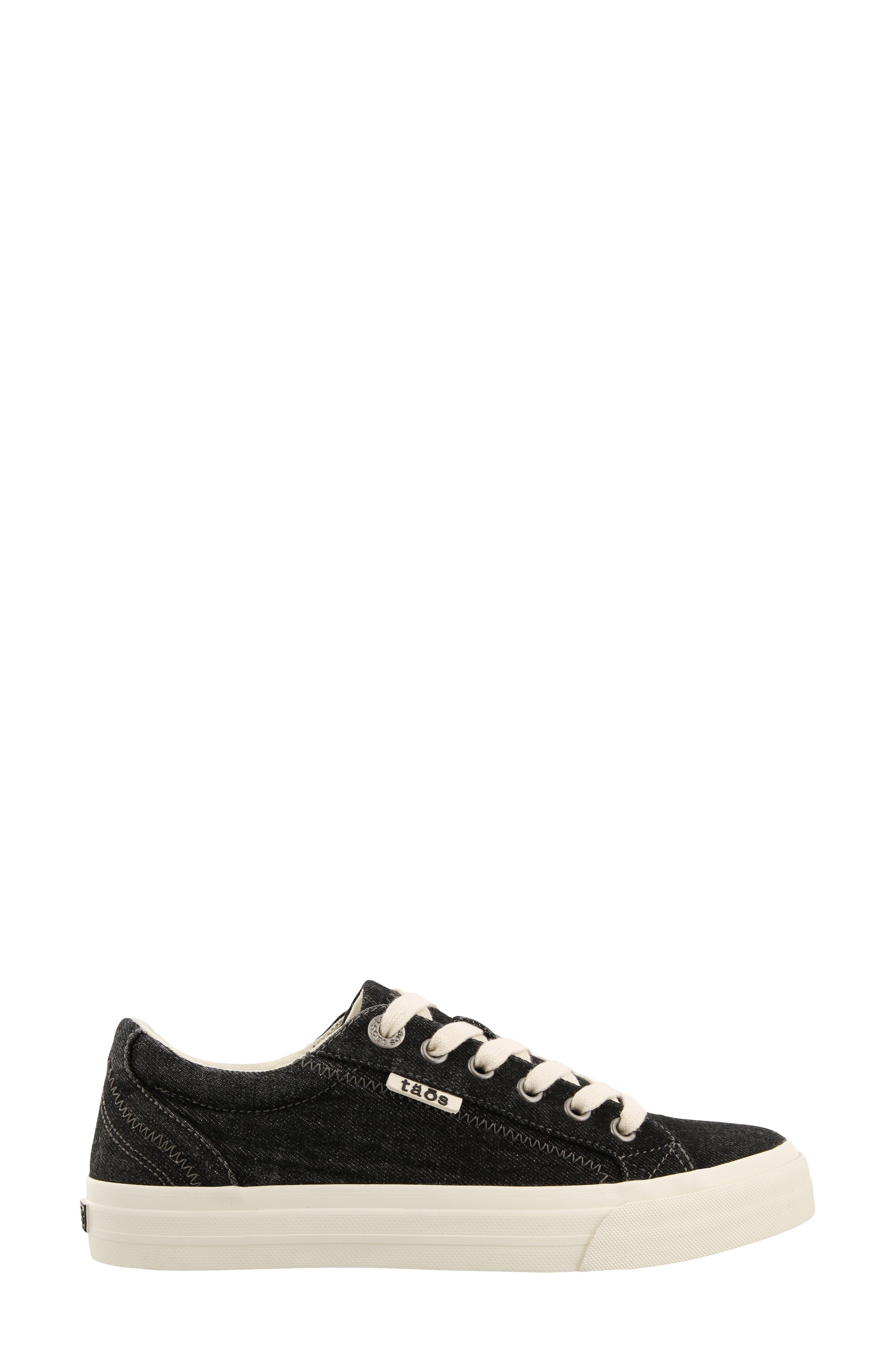 Plim Soul Sneaker,                             Alternate thumbnail 3, color,                             BLACK DENIM FABRIC