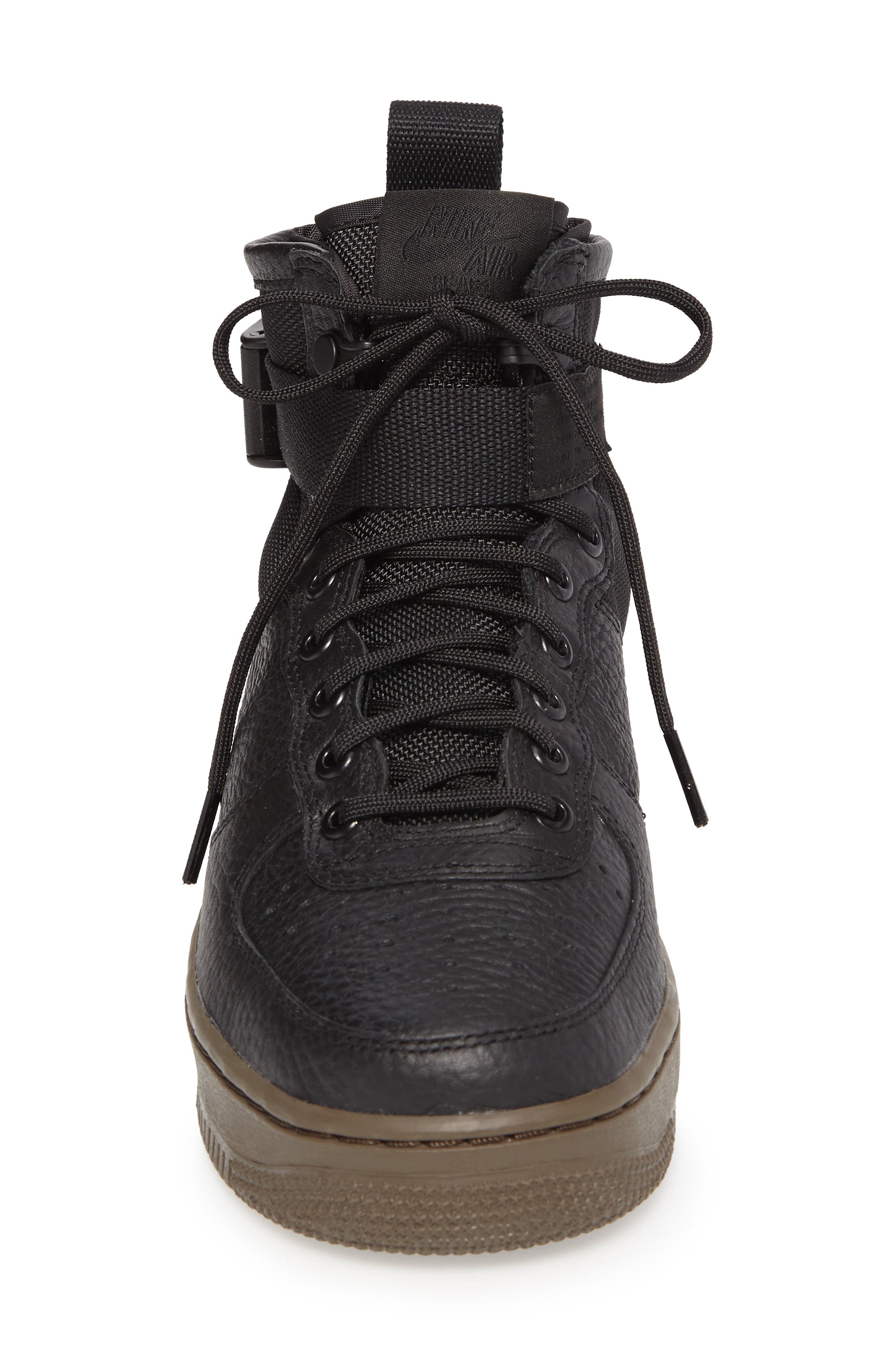 SF Air Force 1 Mid Sneaker,                             Alternate thumbnail 4, color,                             003