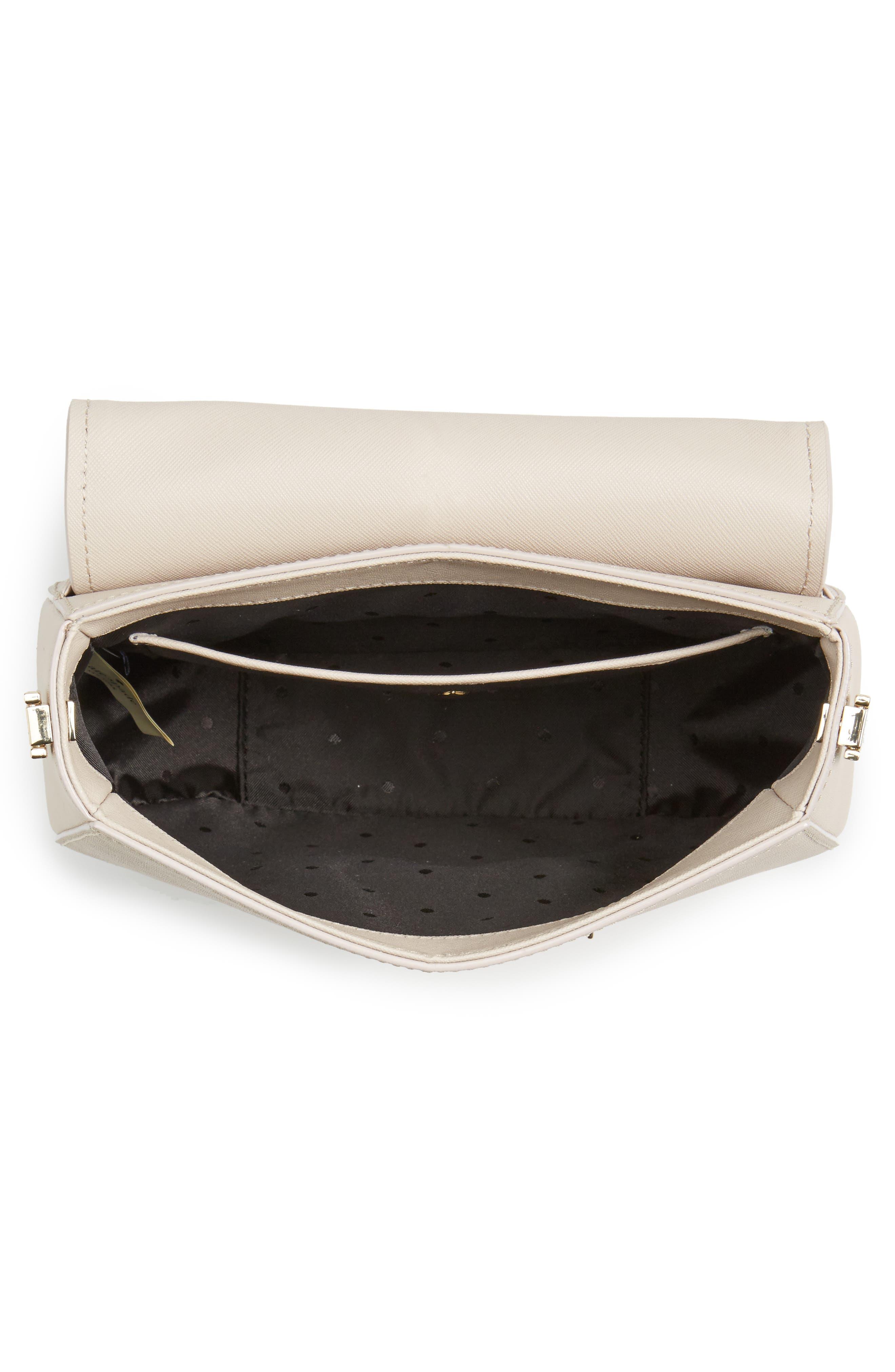make it mine - byrdie leather saddle bag,                             Alternate thumbnail 8, color,