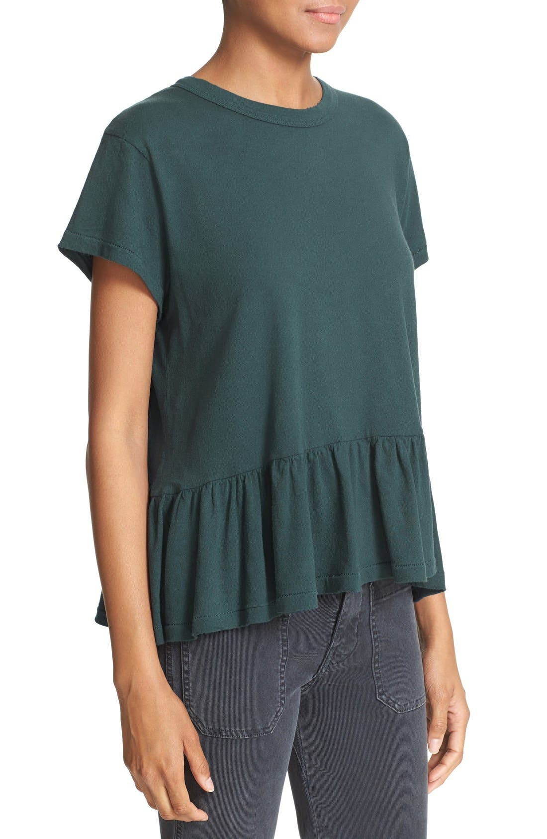 The Ruffle Tee,                             Alternate thumbnail 74, color,