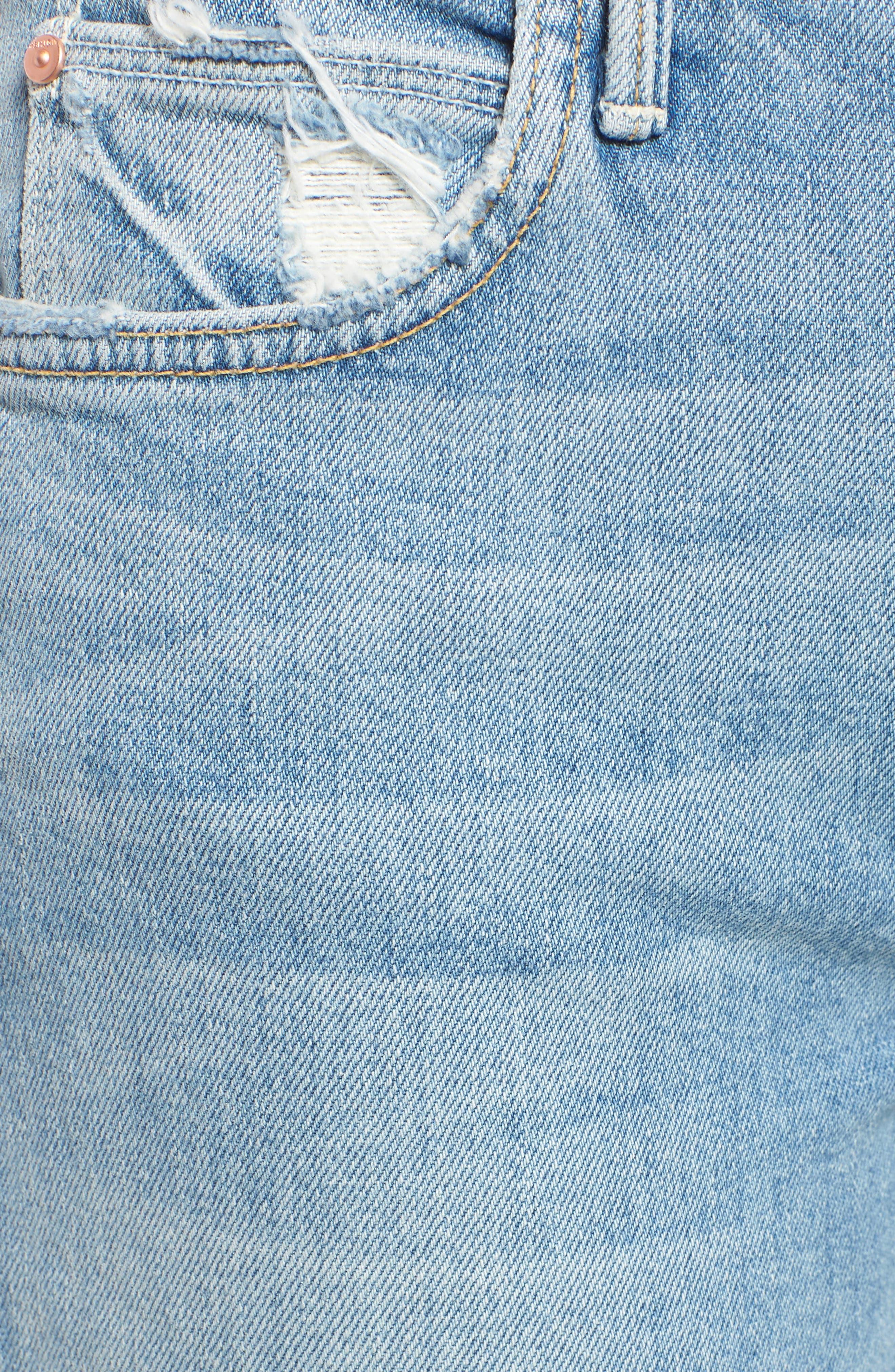 The Flirt Ankle Slim Jeans,                             Alternate thumbnail 6, color,                             400