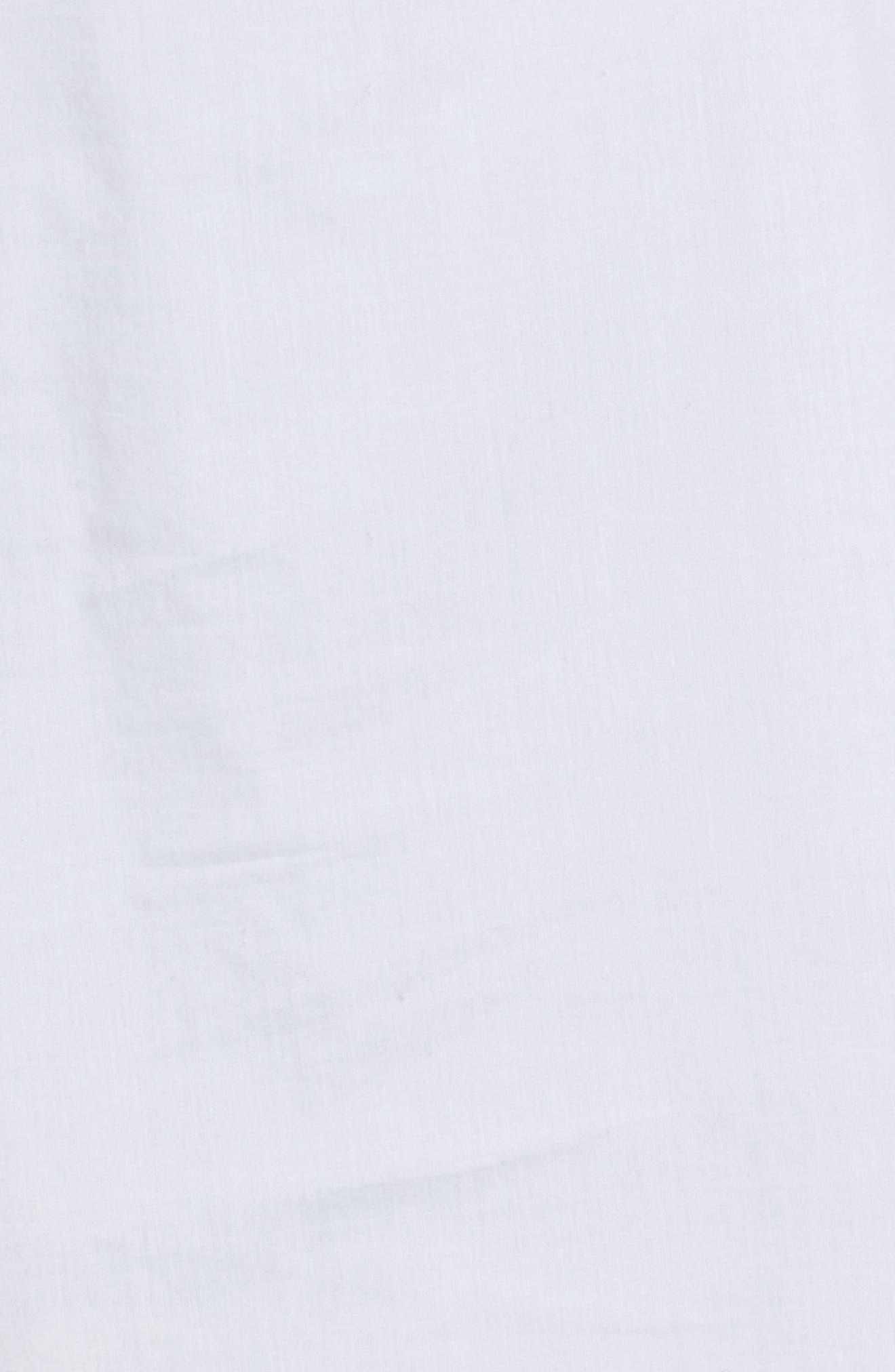 Popover Tunic Shirt,                             Alternate thumbnail 5, color,                             100