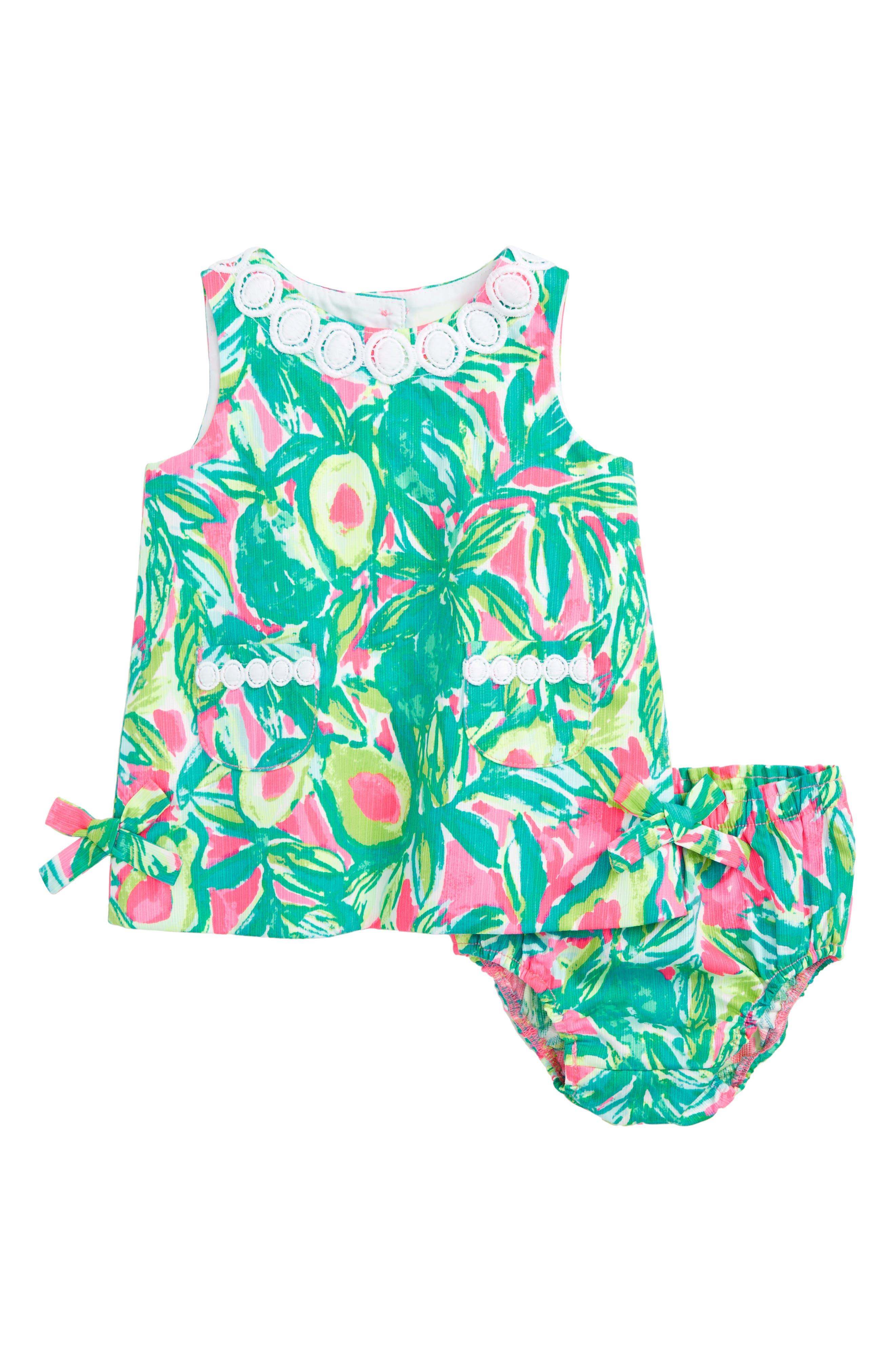 Baby Lilly Shift Dress,                             Main thumbnail 1, color,