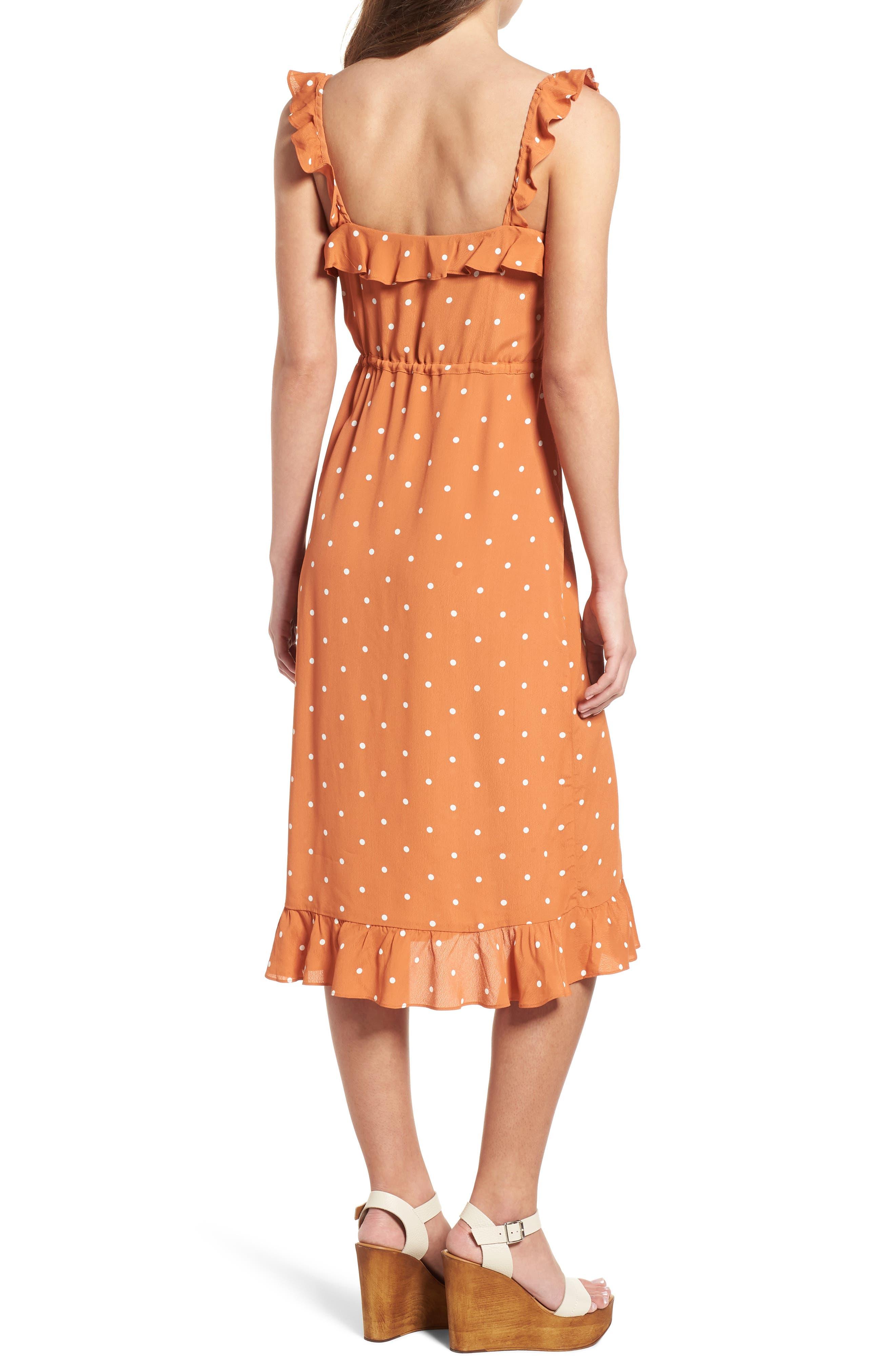 Natalia Midi Dress,                             Alternate thumbnail 4, color,