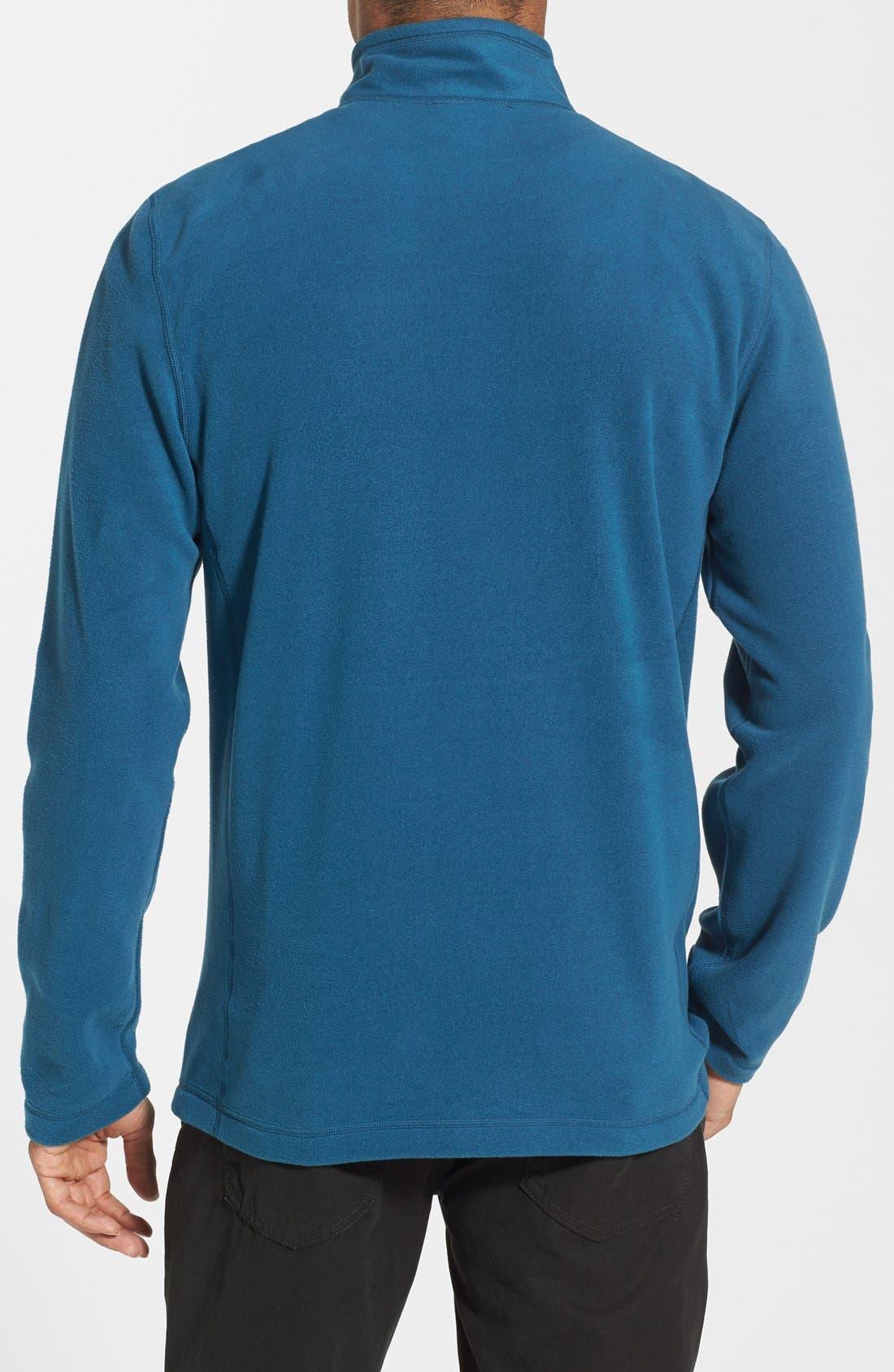 'TKA 100 Glacier' Quarter Zip Fleece Pullover,                             Alternate thumbnail 123, color,