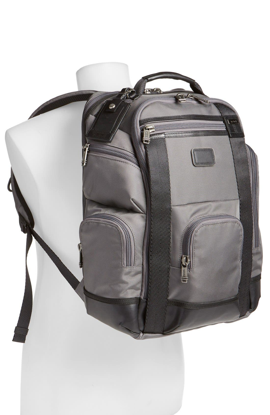 Alpha Bravo Shaw Deluxe Backpack,                             Alternate thumbnail 23, color,