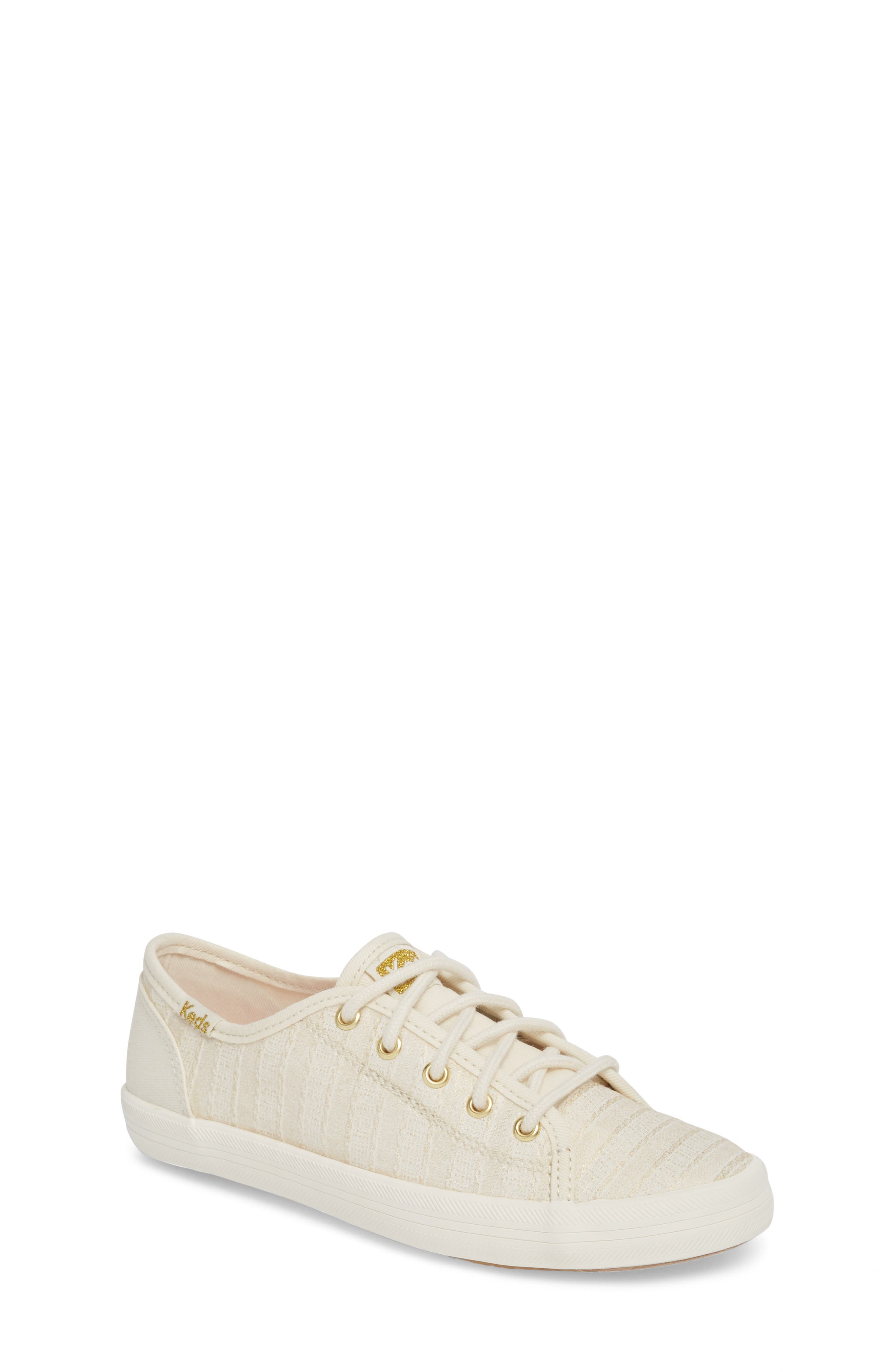 Kickstart Metallic Stripe Sneaker,                             Main thumbnail 1, color,                             400
