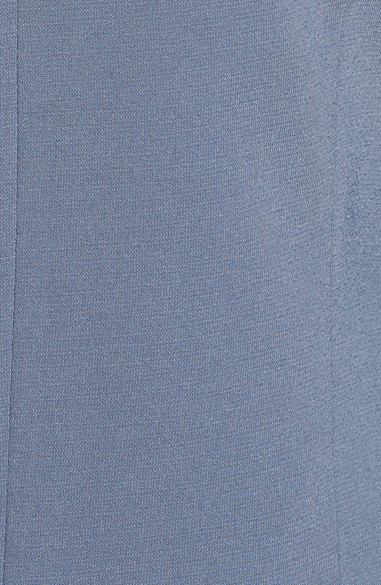 'Curve' Open Front Shawl Collar Blazer,                             Alternate thumbnail 7, color,                             401